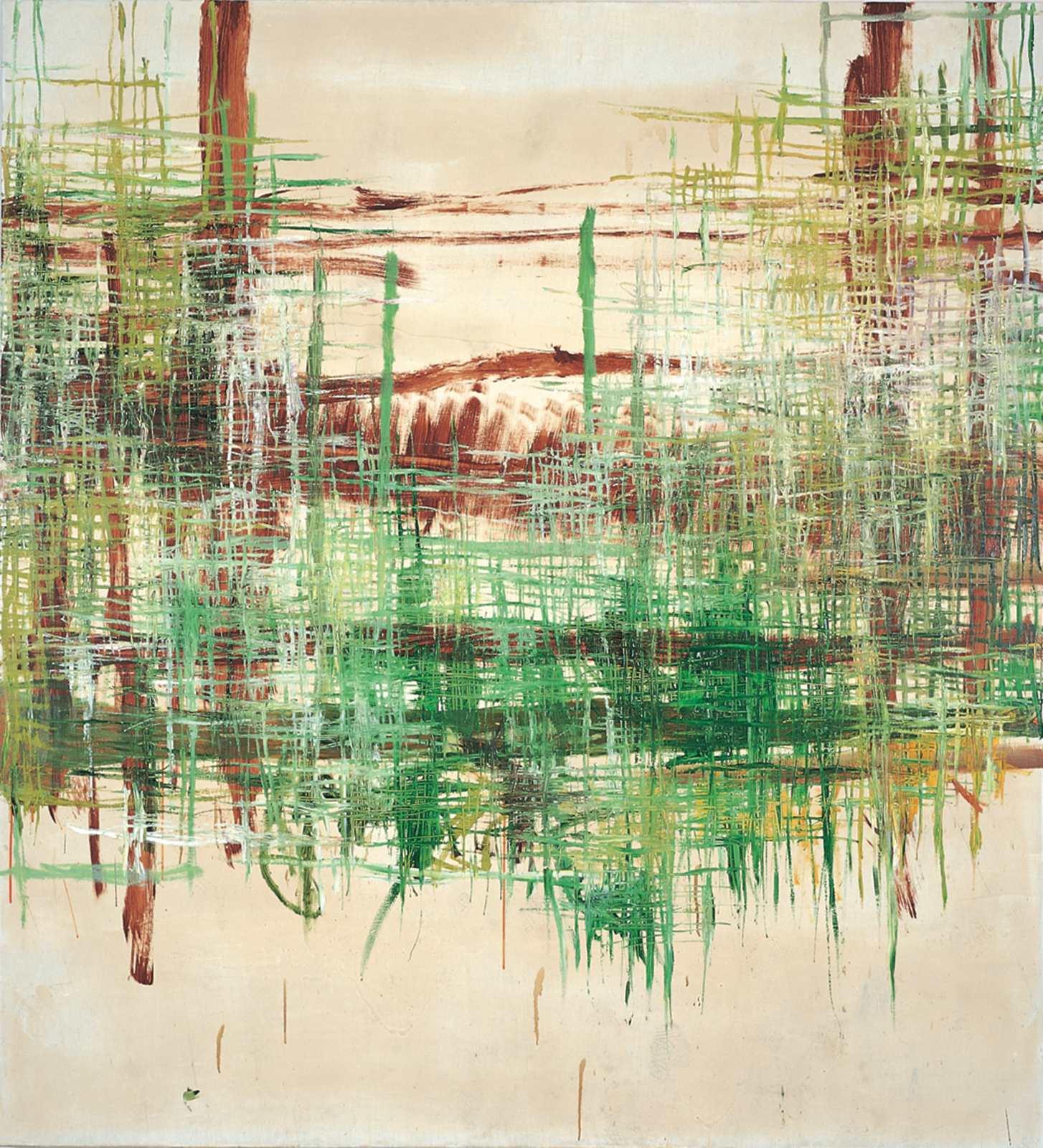 Edition Biographie, 1997, oil on canvas, 220 x 200 cm