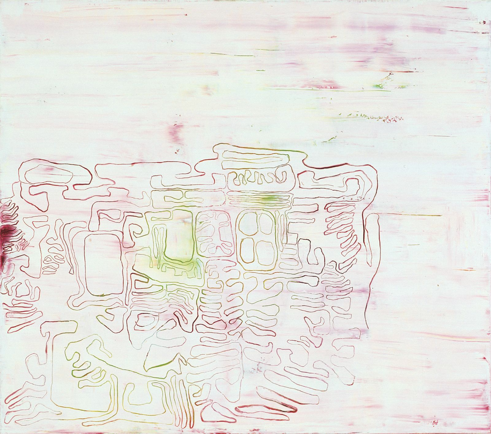 Innocence No. 17, 1999, oil on canvas, 145 x 165 cm