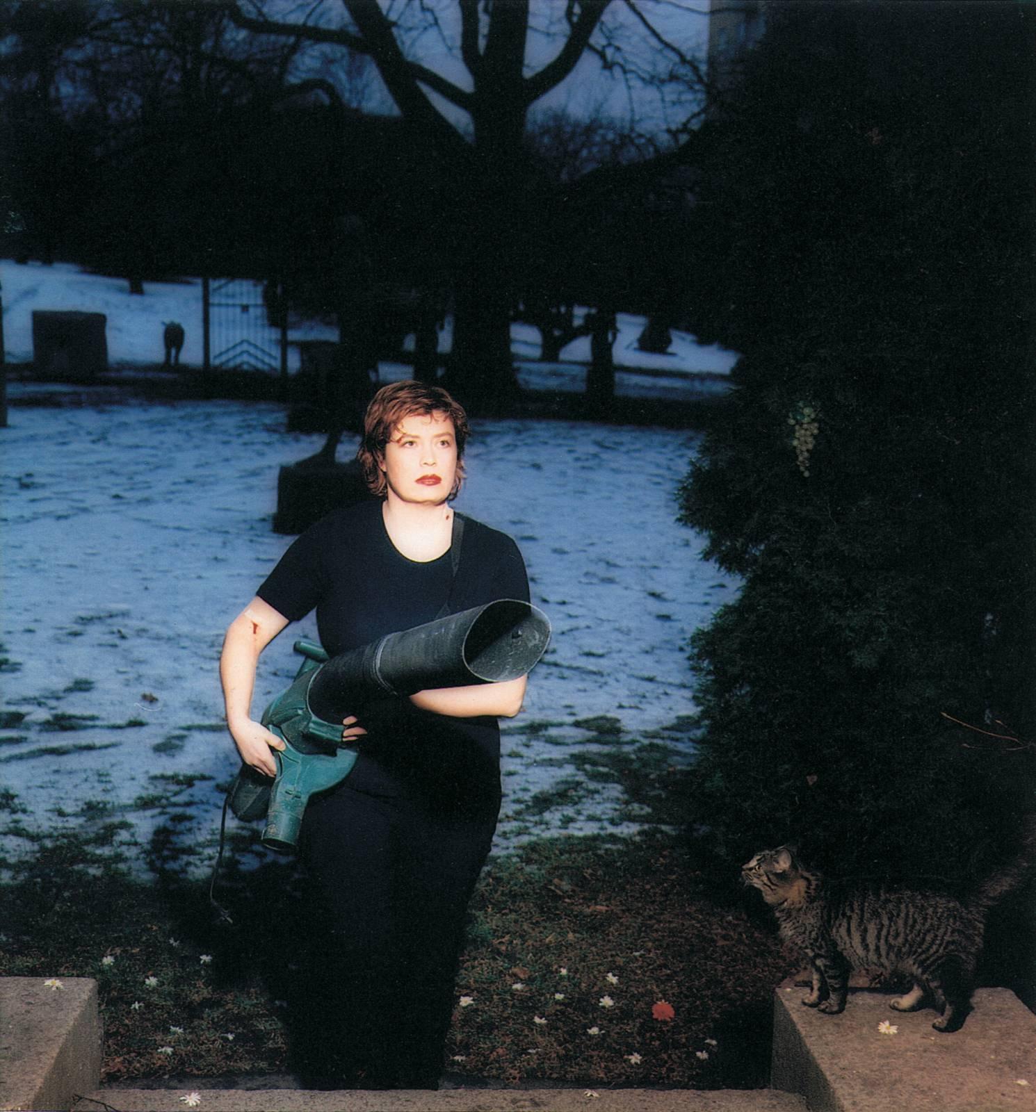 From the Garden, 2000, C-print, 100 x 100 cm