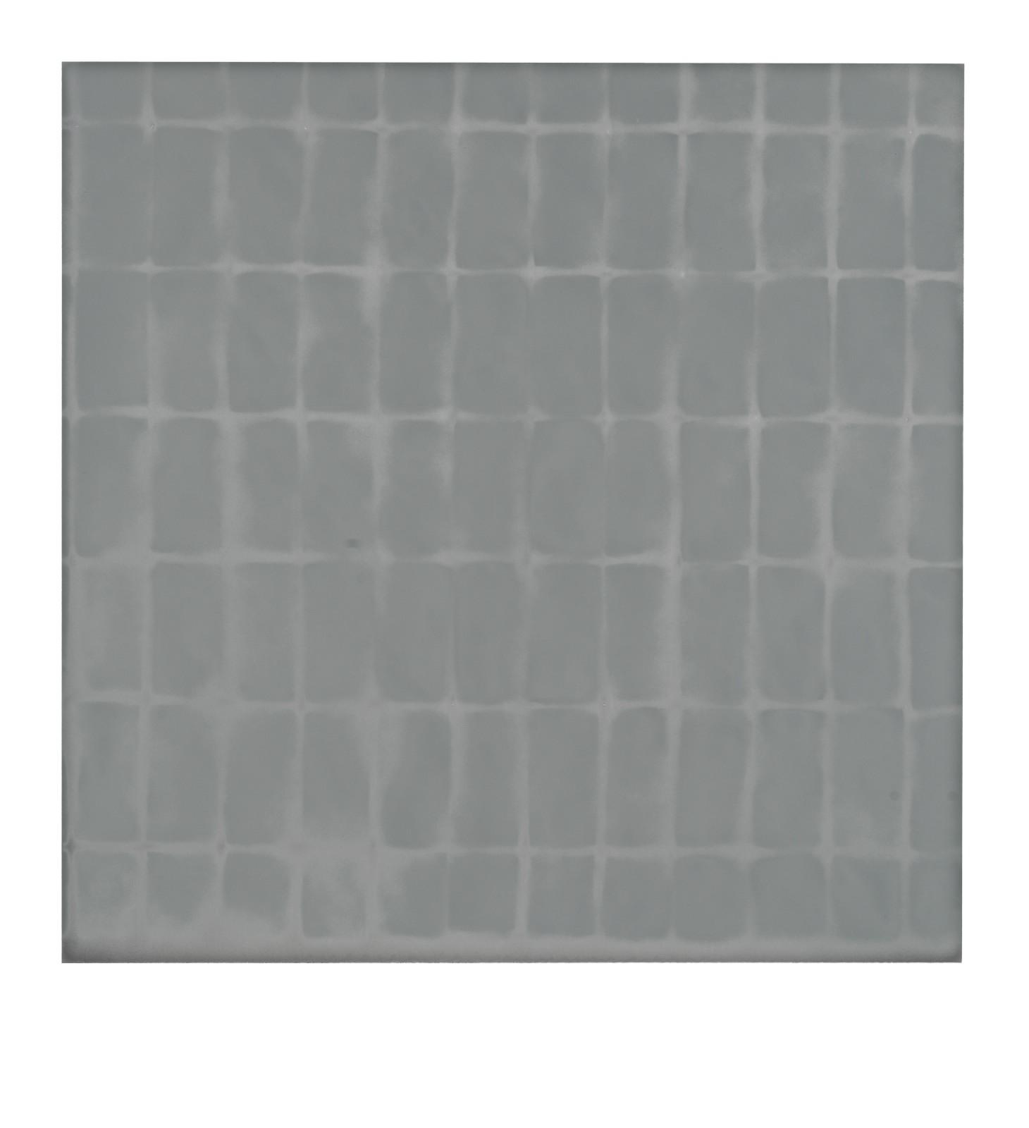 "STAIN : 55°36'24.8""N 13°00'19.1""E, 2016, spraypaint on aluminium, 81,3 x 81,3 cm"