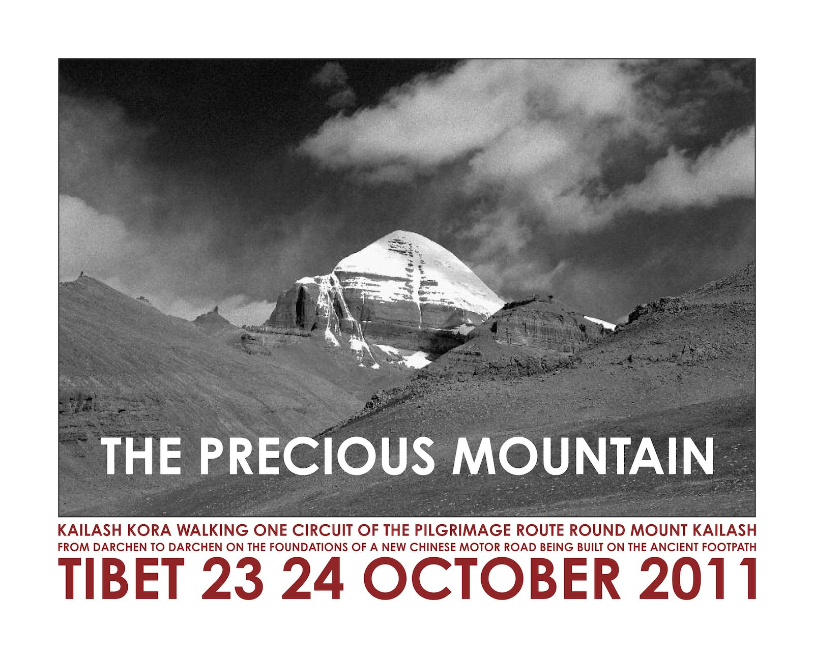 The Precious Mountain Tibet, 2011, giclée print, 40 x 50 cm