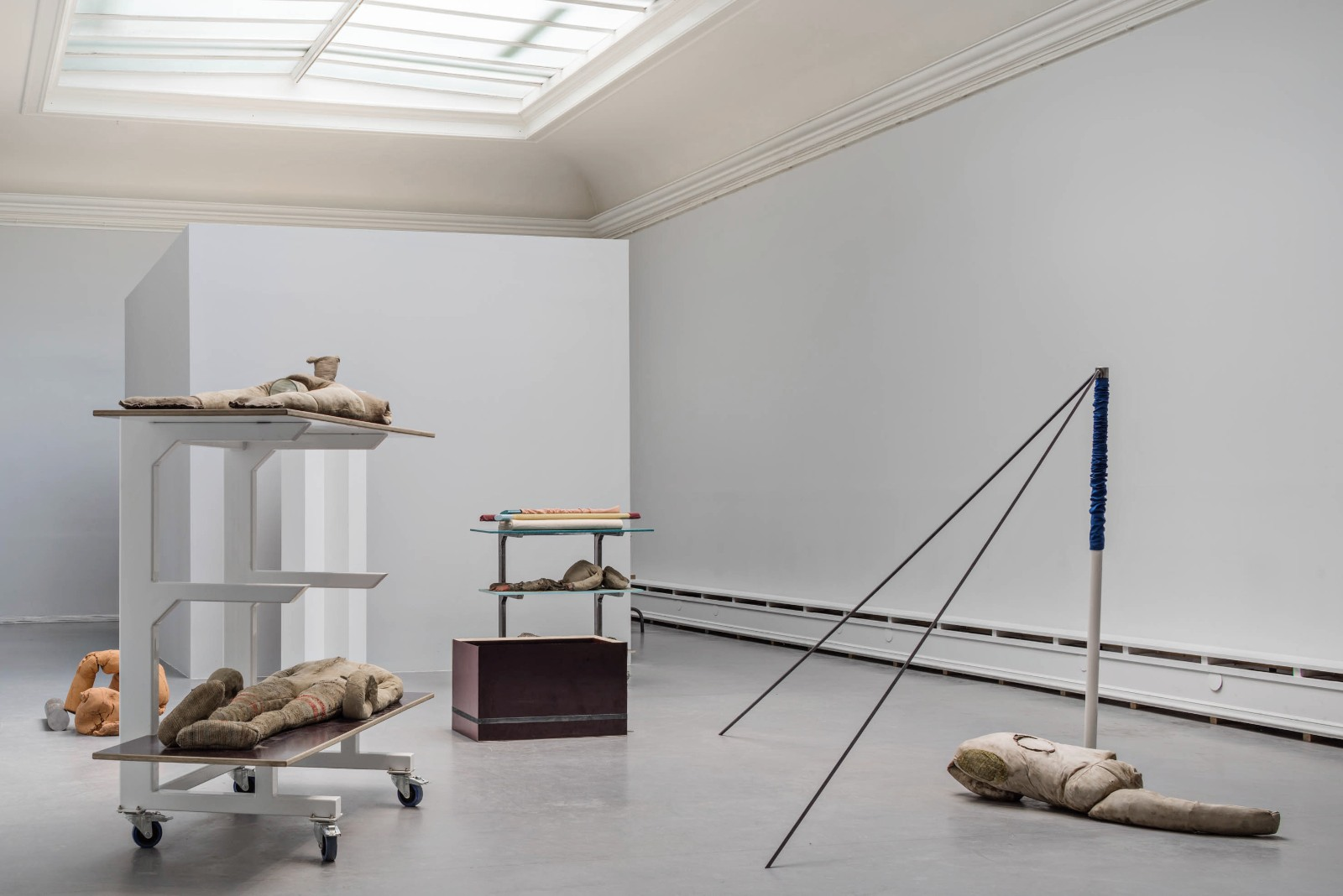 Installation view, I dream of Meadows, Examination show (group), The Royal Art Academy, Stockholm, 2015
