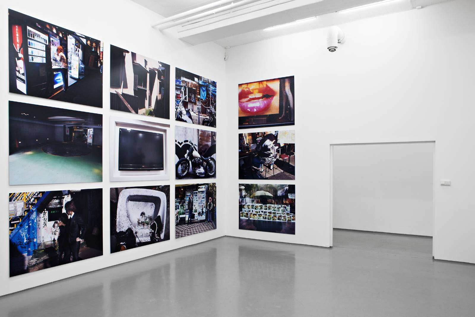 Installation view, Daido Moriyama, Color, Gallery Riis, Oslo, 2012