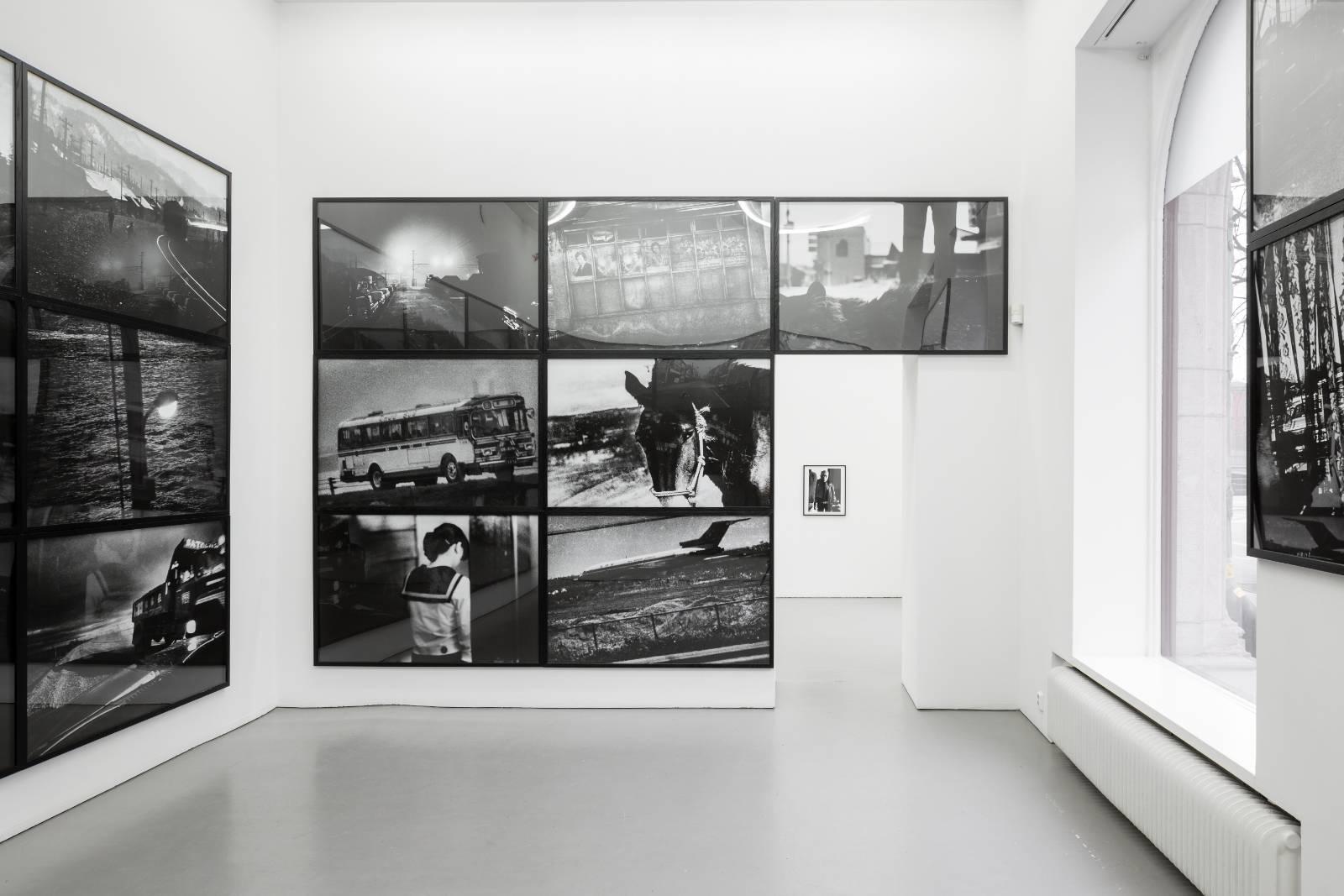 Installation view, Daido Moriyama, Hokkaido / The World Through My Eyes, Gallery Riis, Stockholm, 2013