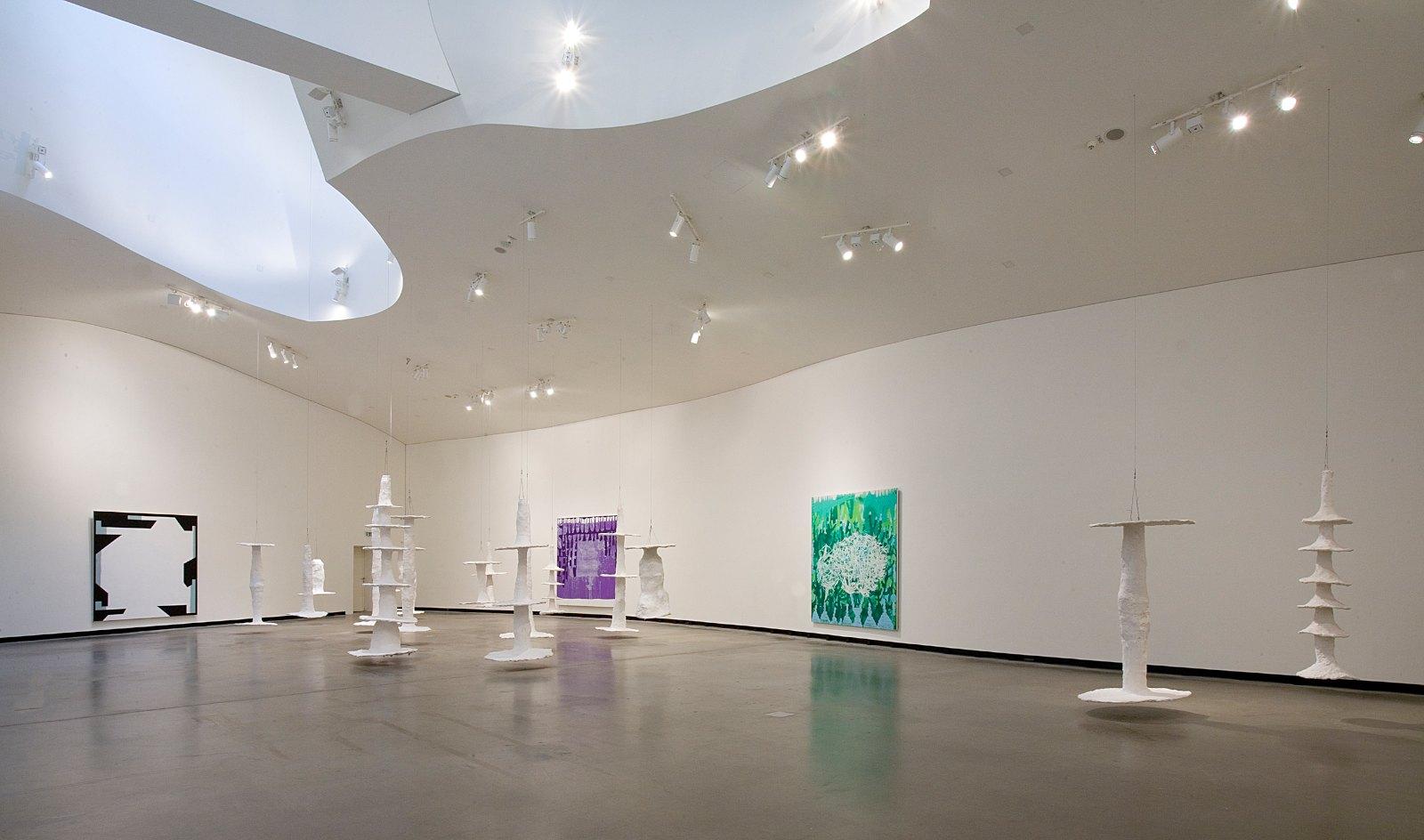 Installation view Olav Christopher Jenssen, Enigma – Works 1985–2012, Marta Herford, Herford, Germany, 2013. Photo: Hans Schröder / Marta Herford
