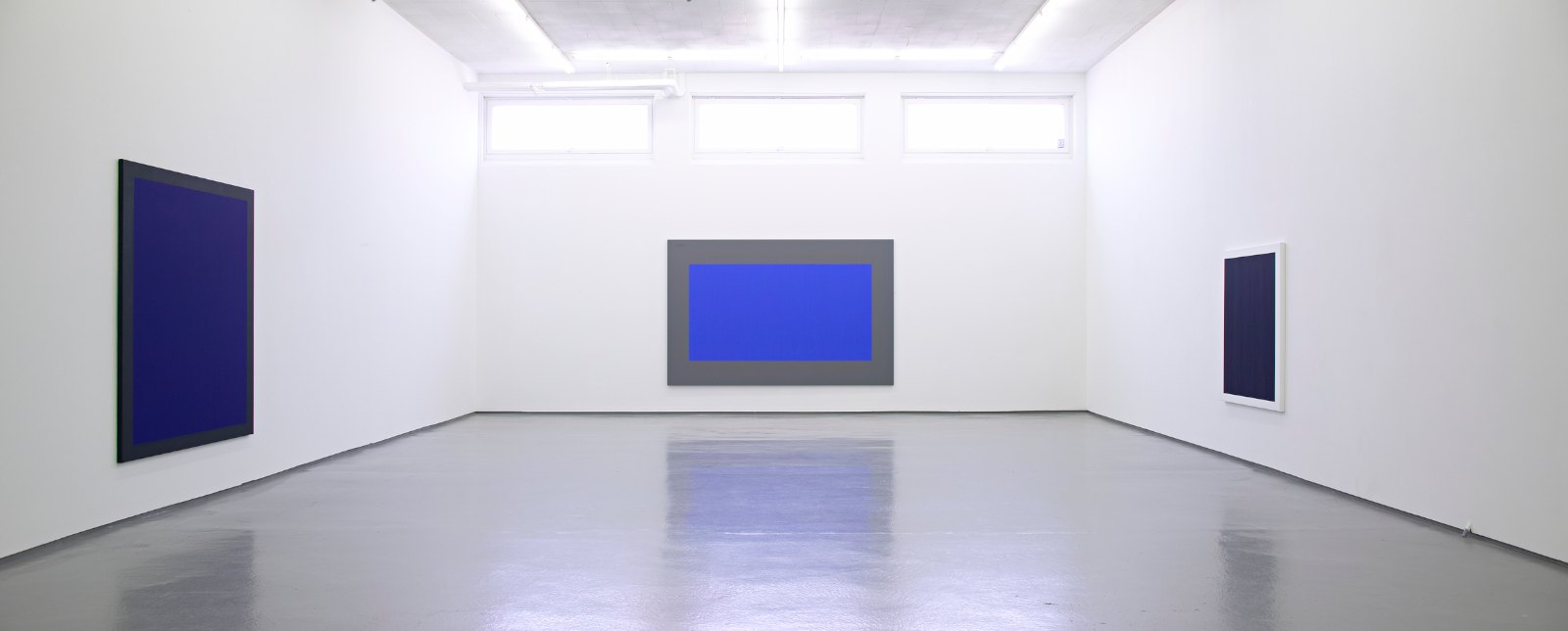 Installation view, Arne Malmedal, New Paintings, Galleri Riis, Oslo, 2007
