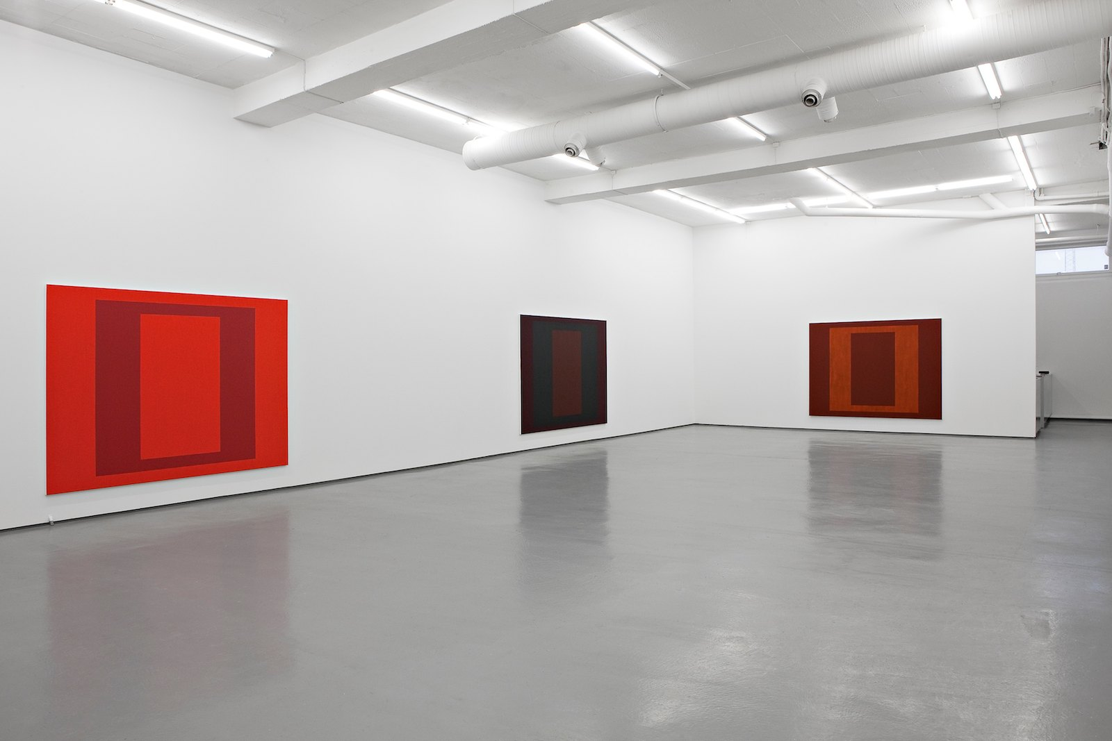 Installation view, Arne Malmedal, New Paintings, Galleri Riis, Oslo, 2009