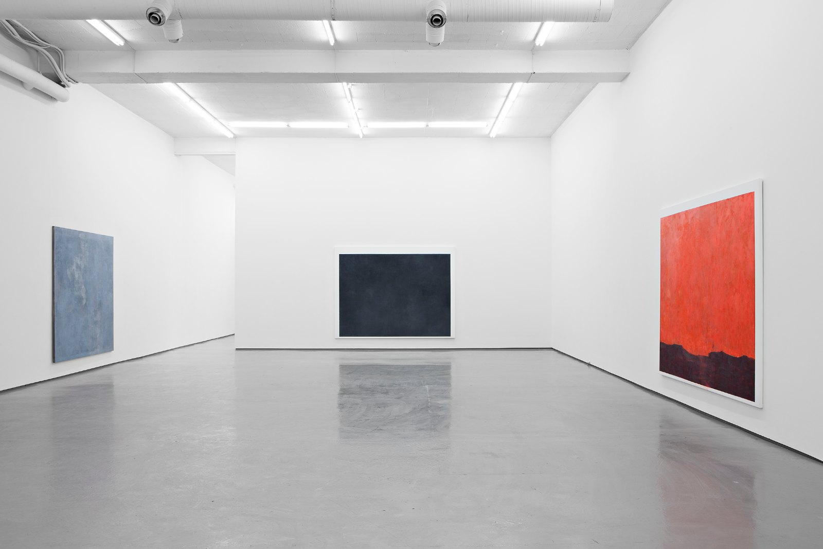 Installation view, Arne Malmedal, New paintings, Galleri Riis, Oslo, 2013