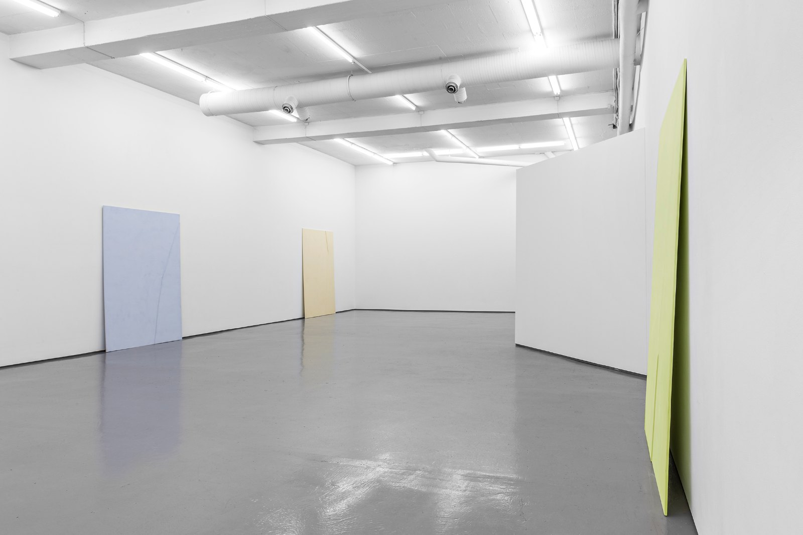 Installation view, Marte Johnslien, Relevo, Galleri Riis, 2014