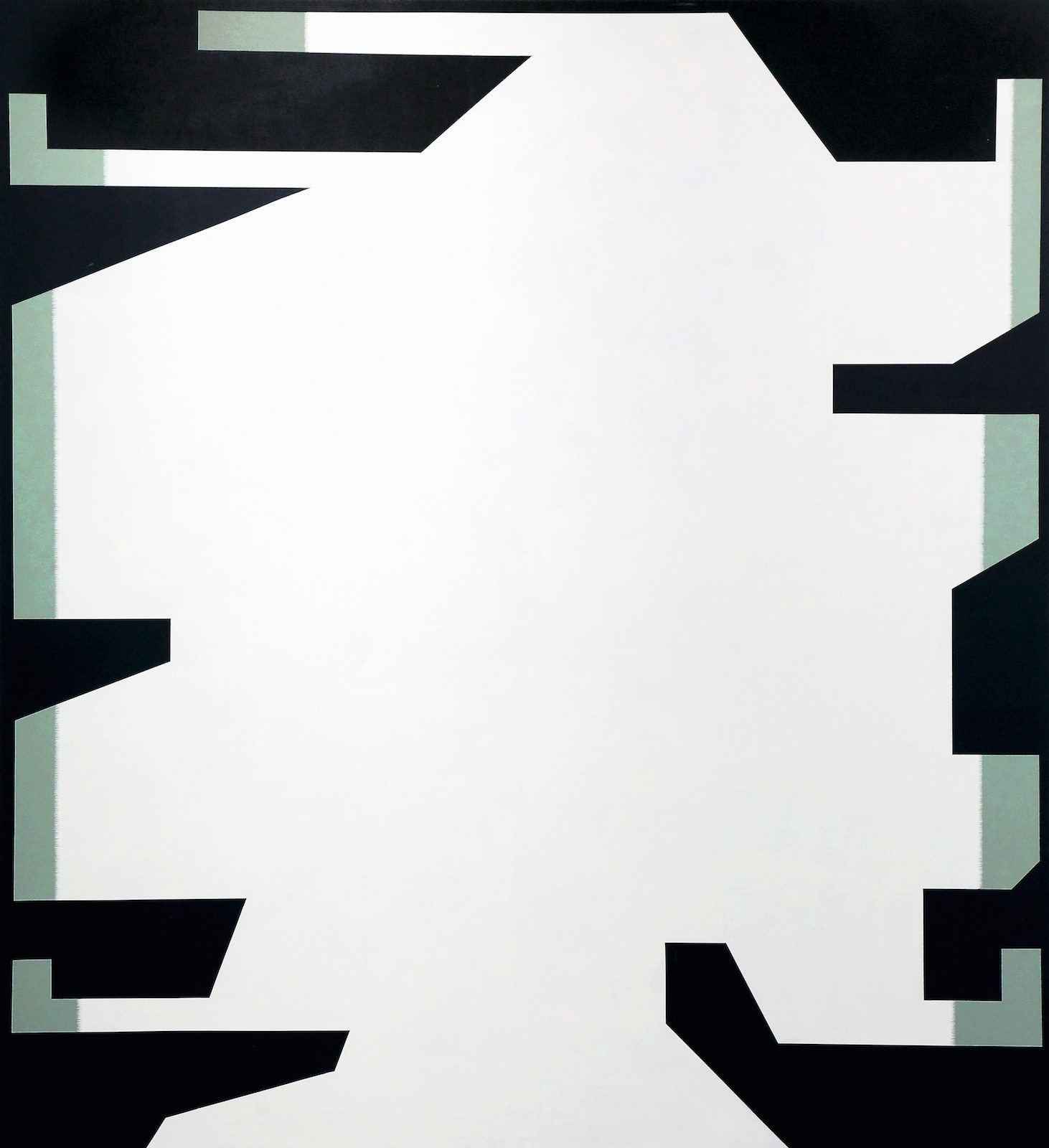 Bretagne No. 11, 2010, acrylic on canvas, 350 x 320 cm