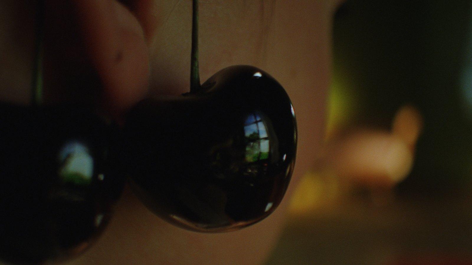 Still from Kersentijd (Cherry season), 2012, 35mm film loop, 2'25'', digitally projected