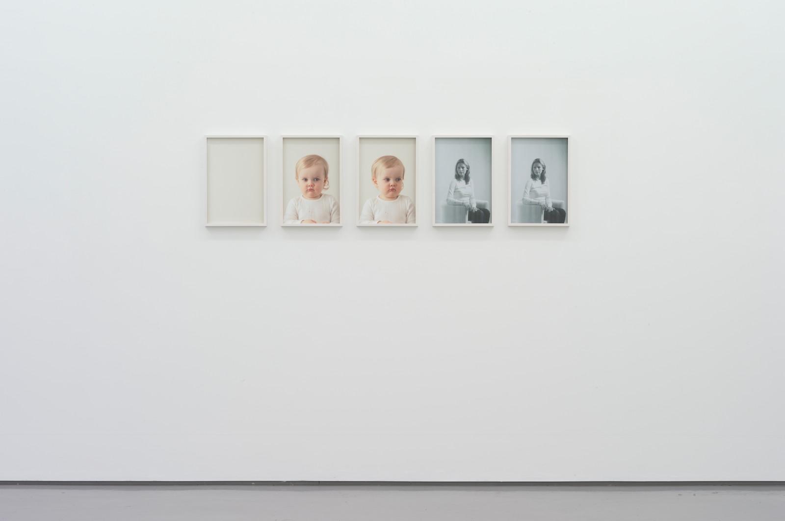 nina (infant), 2013, gicleé print, 50 x 33,2 cm (each, 3 parts), ed. 5 / nina (xerox), 2013, gicleé print, 50 x 33,2 cm, ed. 5