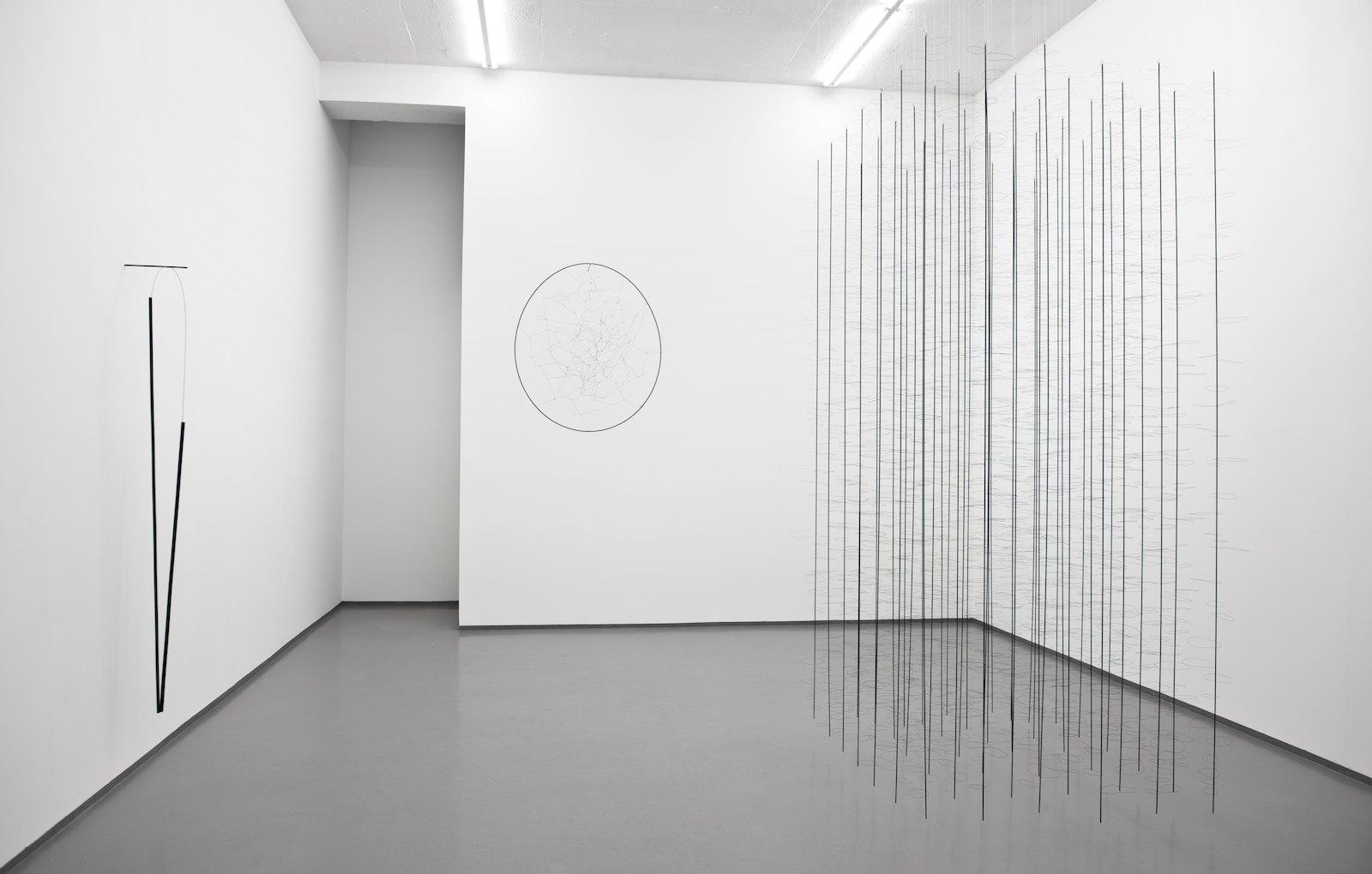 Installation view, Tone Vigeland, New Works, Galleri Riis, Oslo, 2011