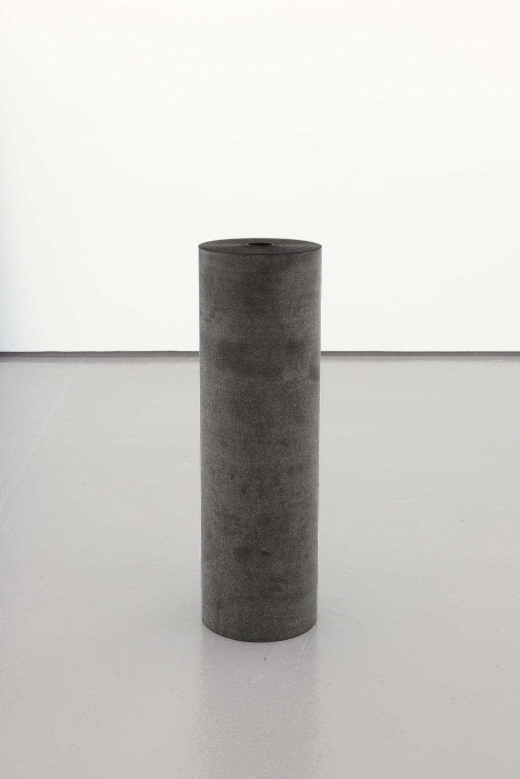 Kristján Gudmundsson, Black Hole, 1993, Carbon paper, 112 x 34 ø cm