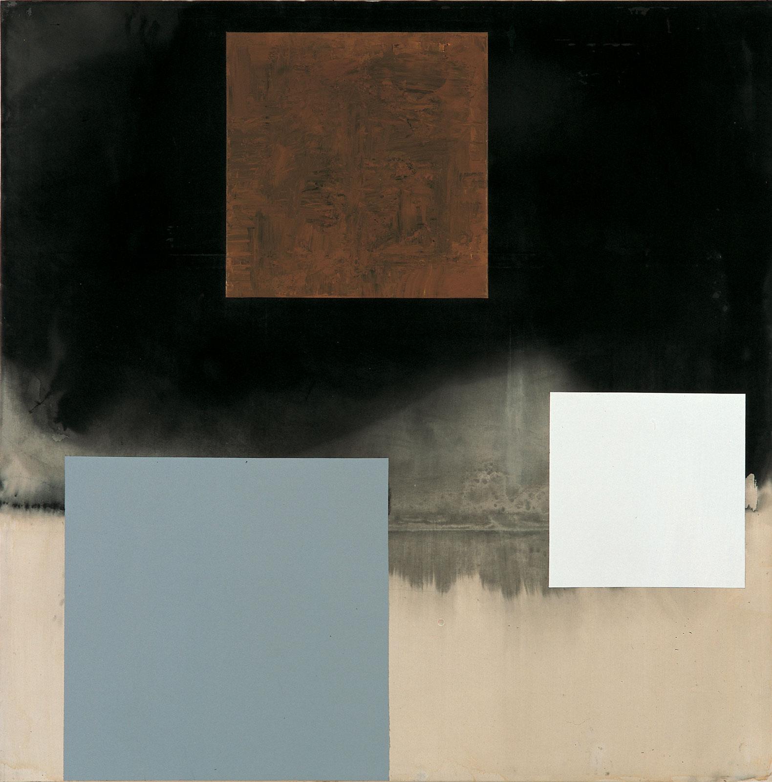 Paul Osipow, Det andra, 1995-97, Acrylic on canvas, 240 x 240 cm