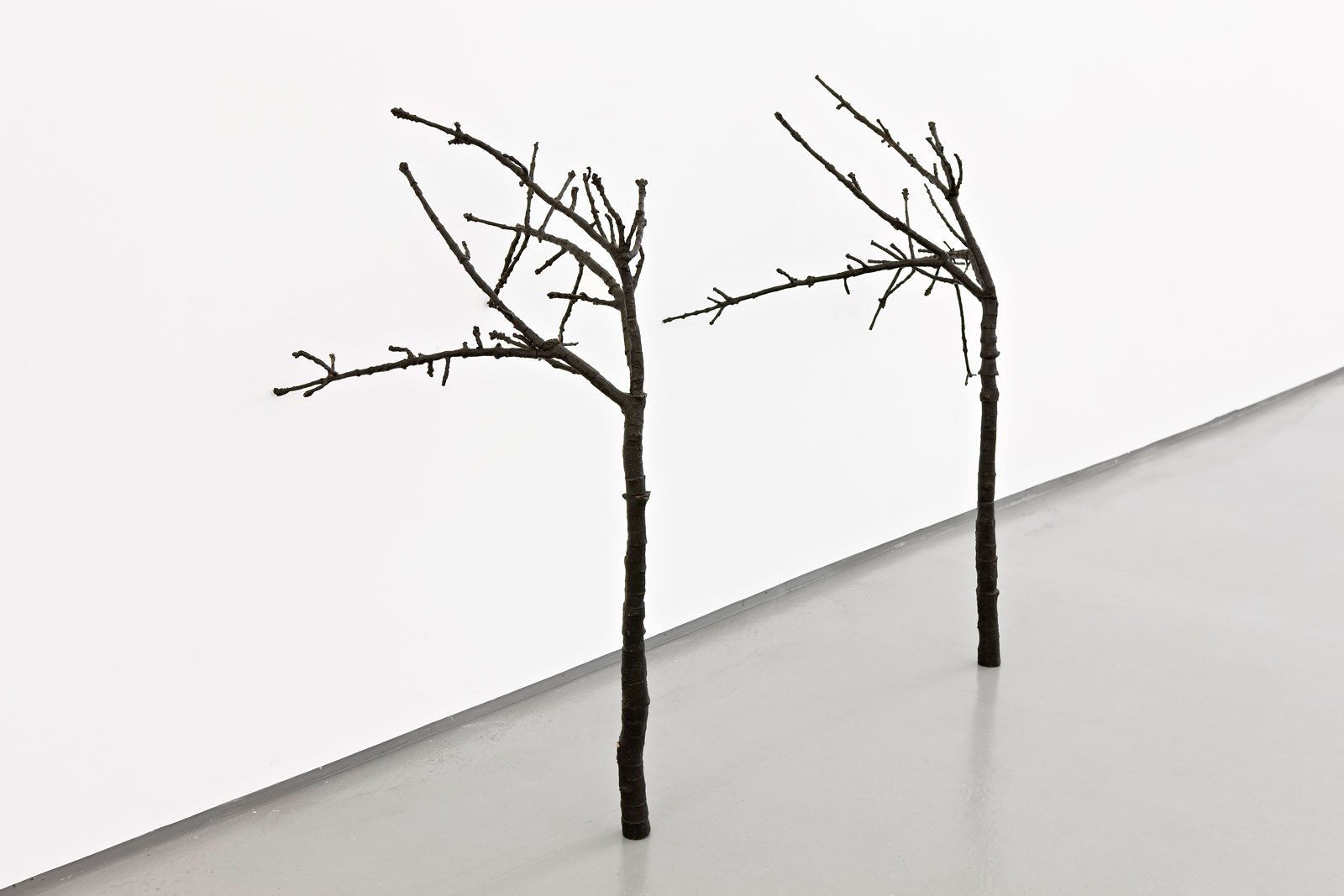 Andreas Eriksson, A Second Time, 2007, Bronze, two parts, 130 x 100 x 100 cm