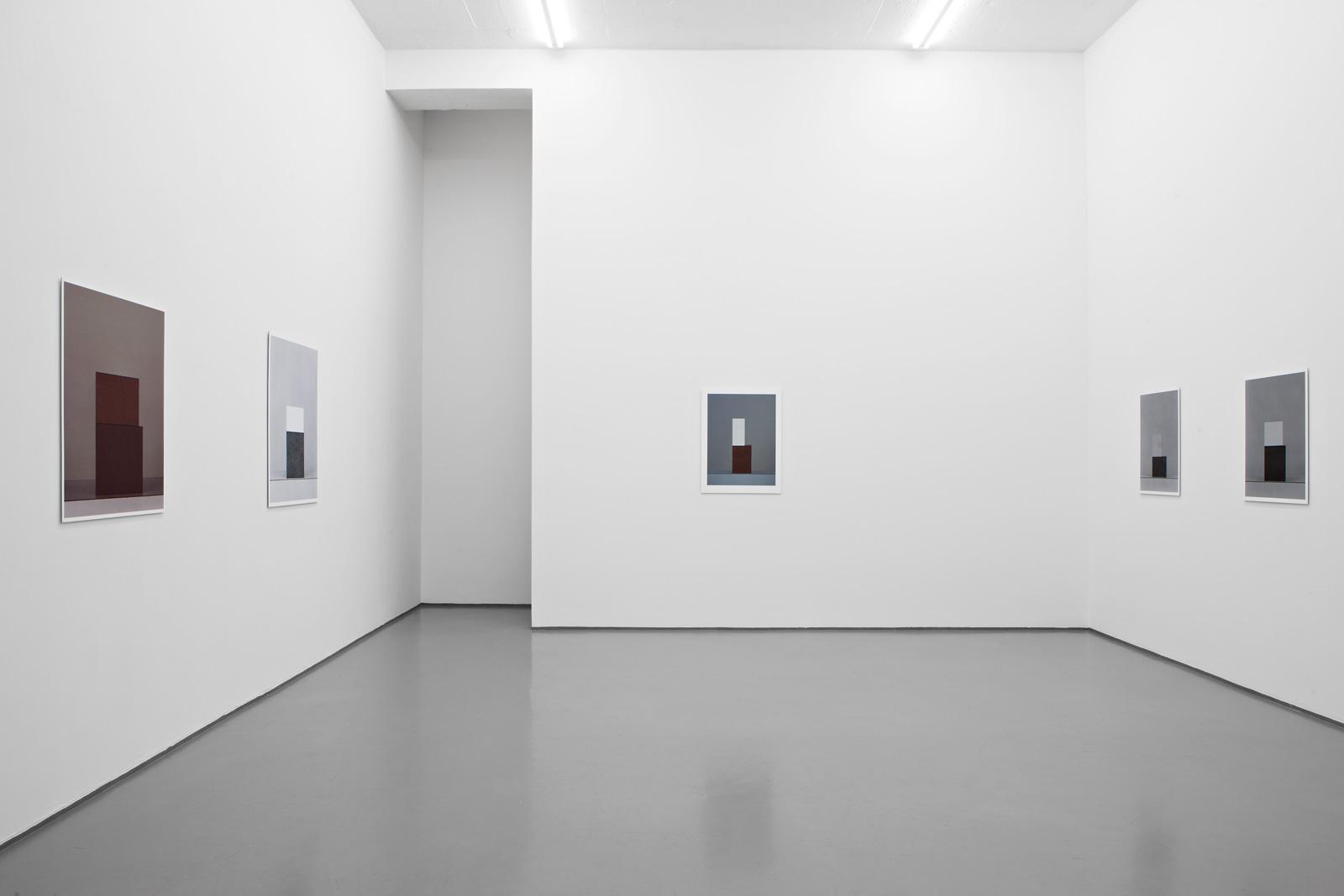Installation view, Stein Rønning, Austiére, Galleri Riis, Oslo, 2012