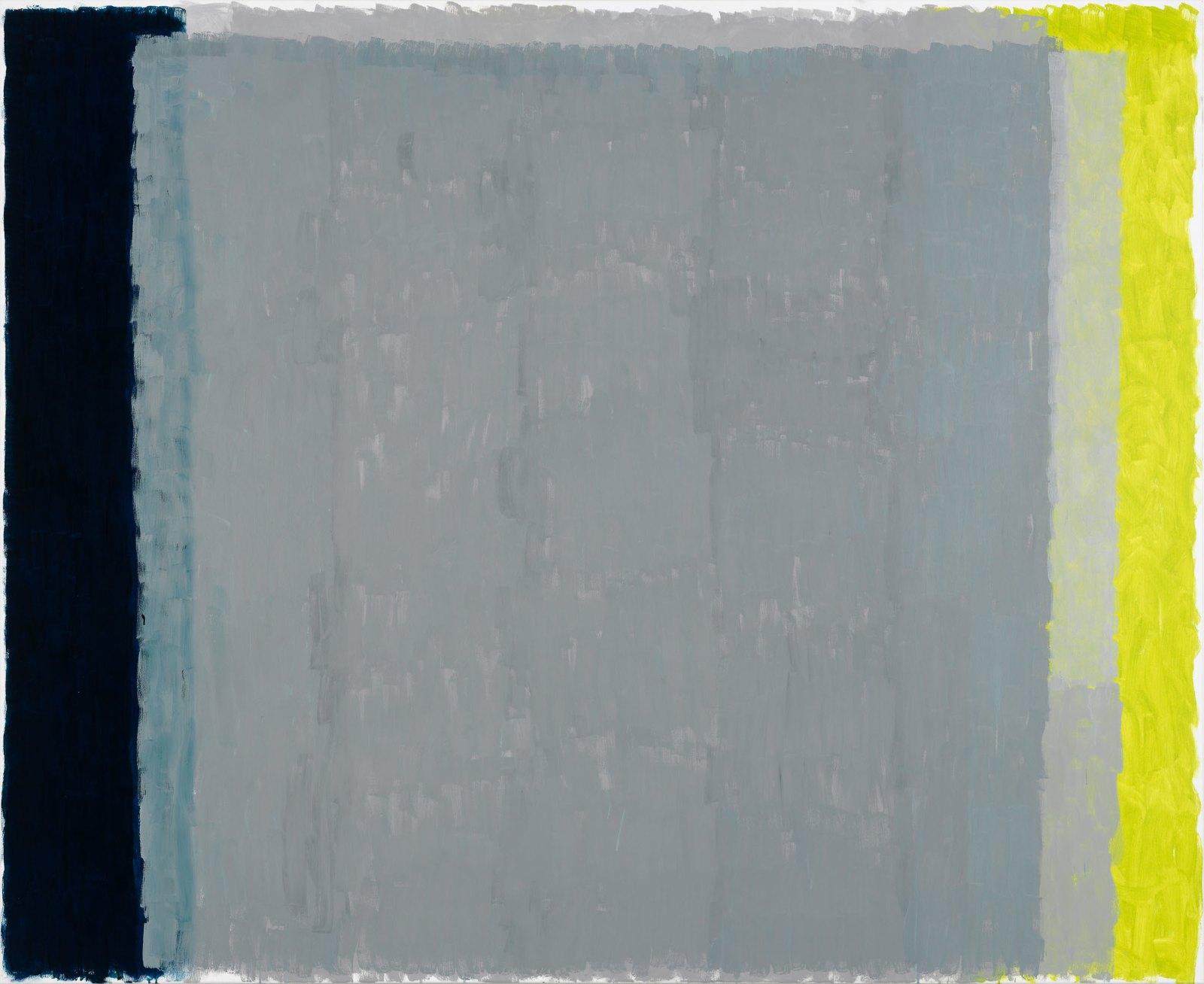 Løren # 8, 2015, egg tempera on cotton, 180 x 220 cm