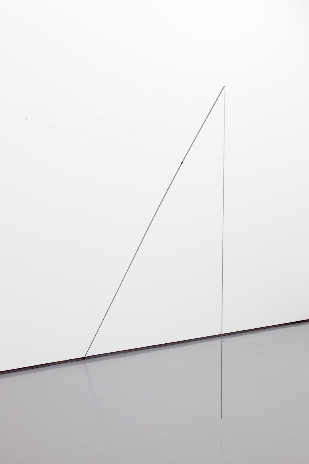 Tone Vigeland, Sculpture II, 2004, Steel, silver, 220 x 214 x 207 cm