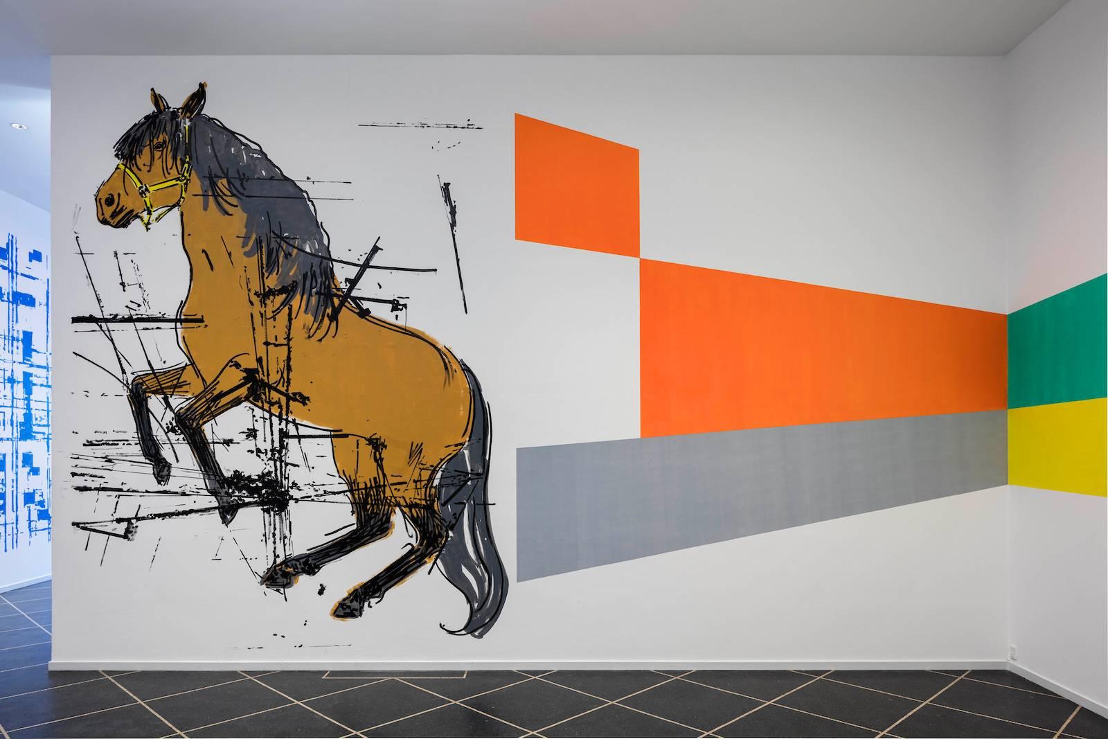 La pittura, 2016. Installation view Galleri Susanne Ottesen, Copenhagen, 2016
