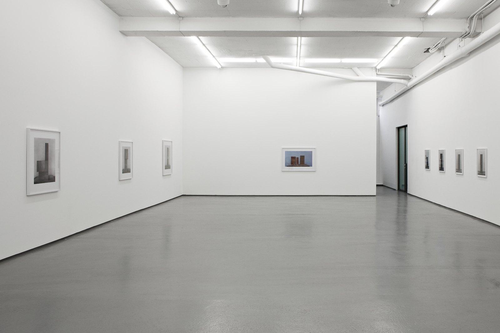 Installation view, Stein Rønning, Sett, Galleri Riis, Oslo, 2009
