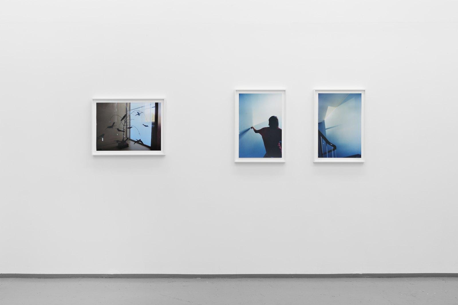 Installation view Eline Mugaas, I Make Another Room, Galleri Riis, Oslo, 2014