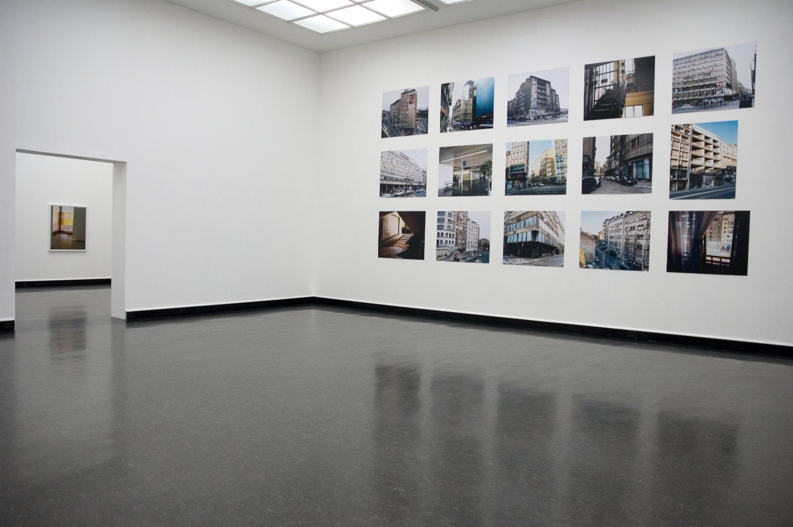 Installation view Eline Mugaas, Some Cities, Bergen Kunsthall, Bergen, Norway, 2007