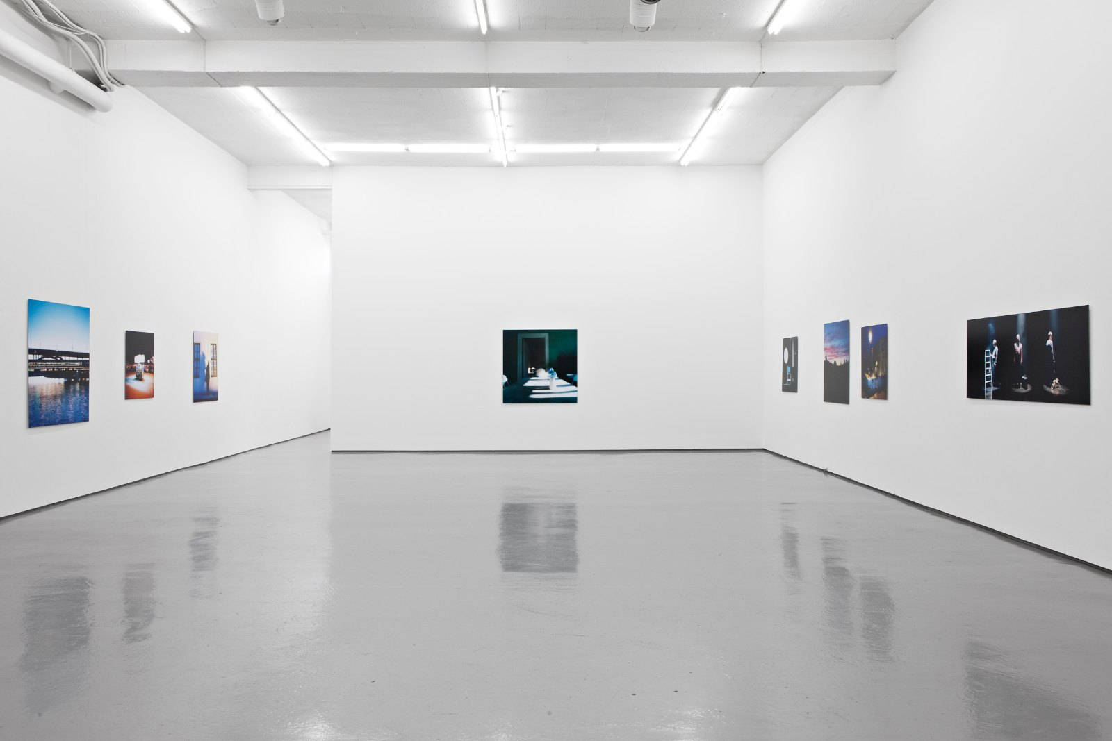 Installation view, Signe Marie Andersen, Somehow considered in a room, Galleri Riis, Oslo, 2011