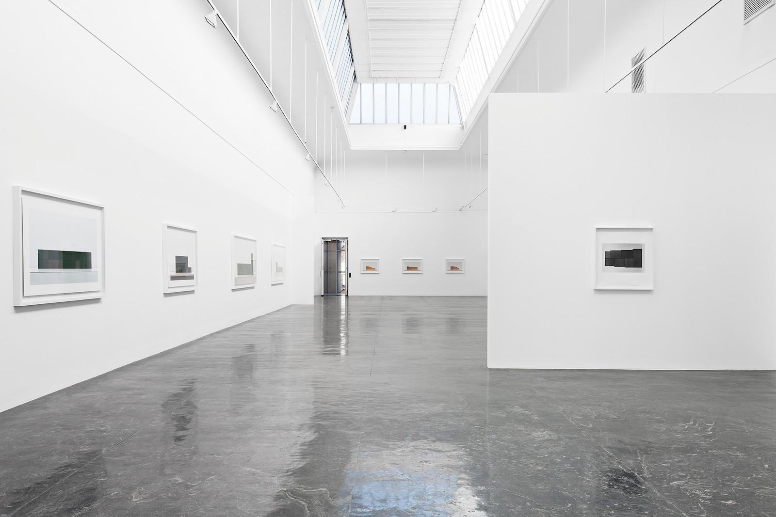 Installation view Stein Rønning, Hierlieu, Kunstnernes Hus, Oslo, 2014