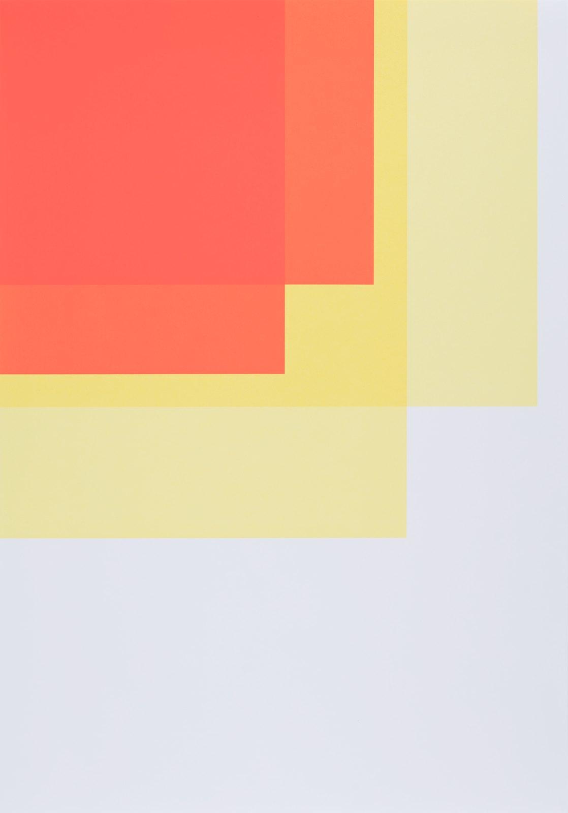 Collecting Colors (Orange/Yellow II), 2016, silkscreen print, 100 x 70 cm, Ed. 4