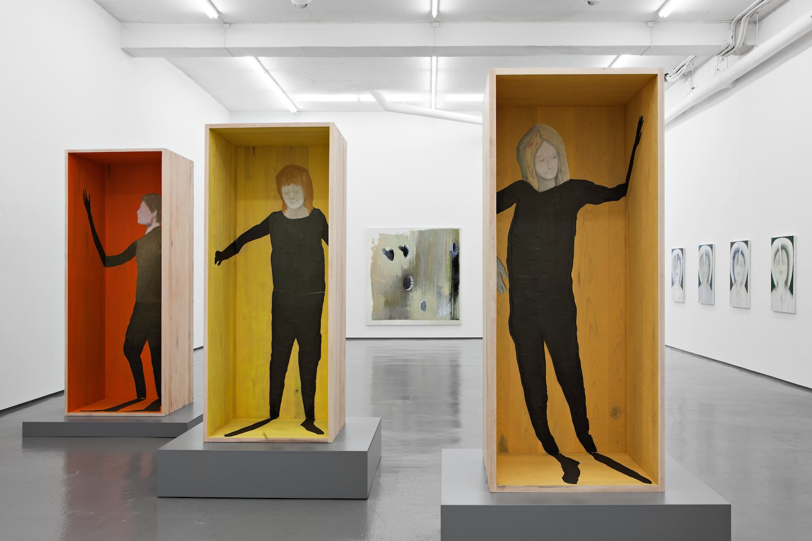 Installation view, Håvard Homstvedt, Truth Pops a Reflex, Galleri Riis, Oslo, 2012