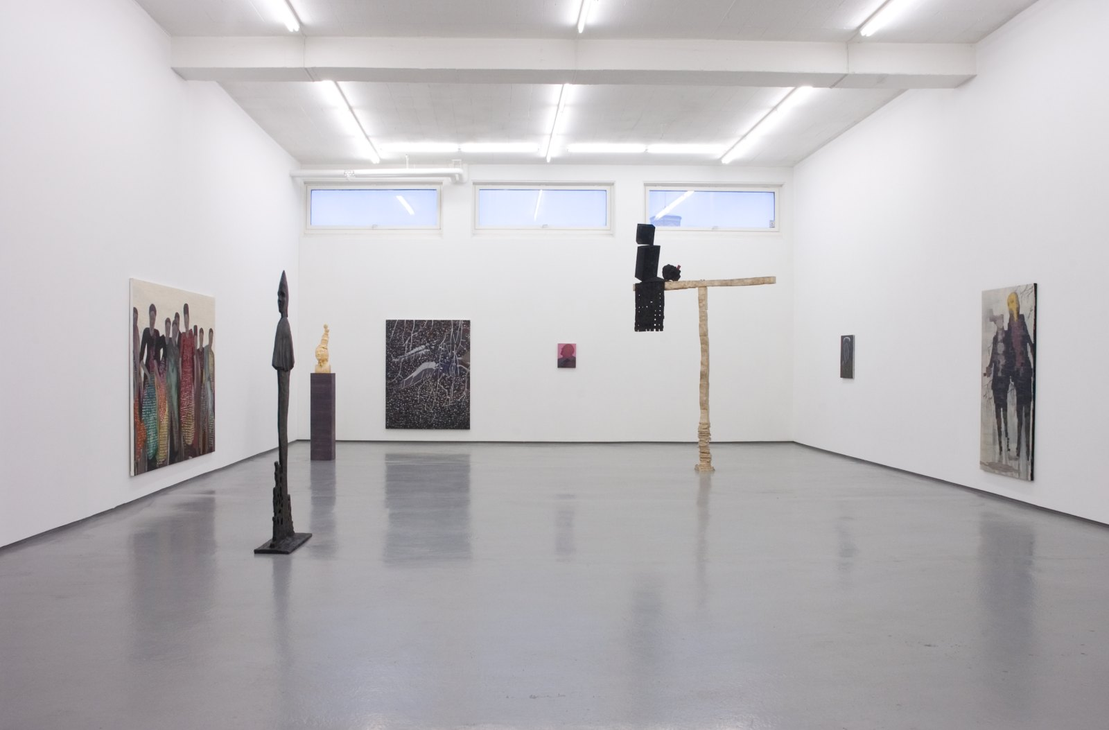 Installation view, Håvard Homstvedt, You will hardly know, Galleri Riis, Oslo, 2007