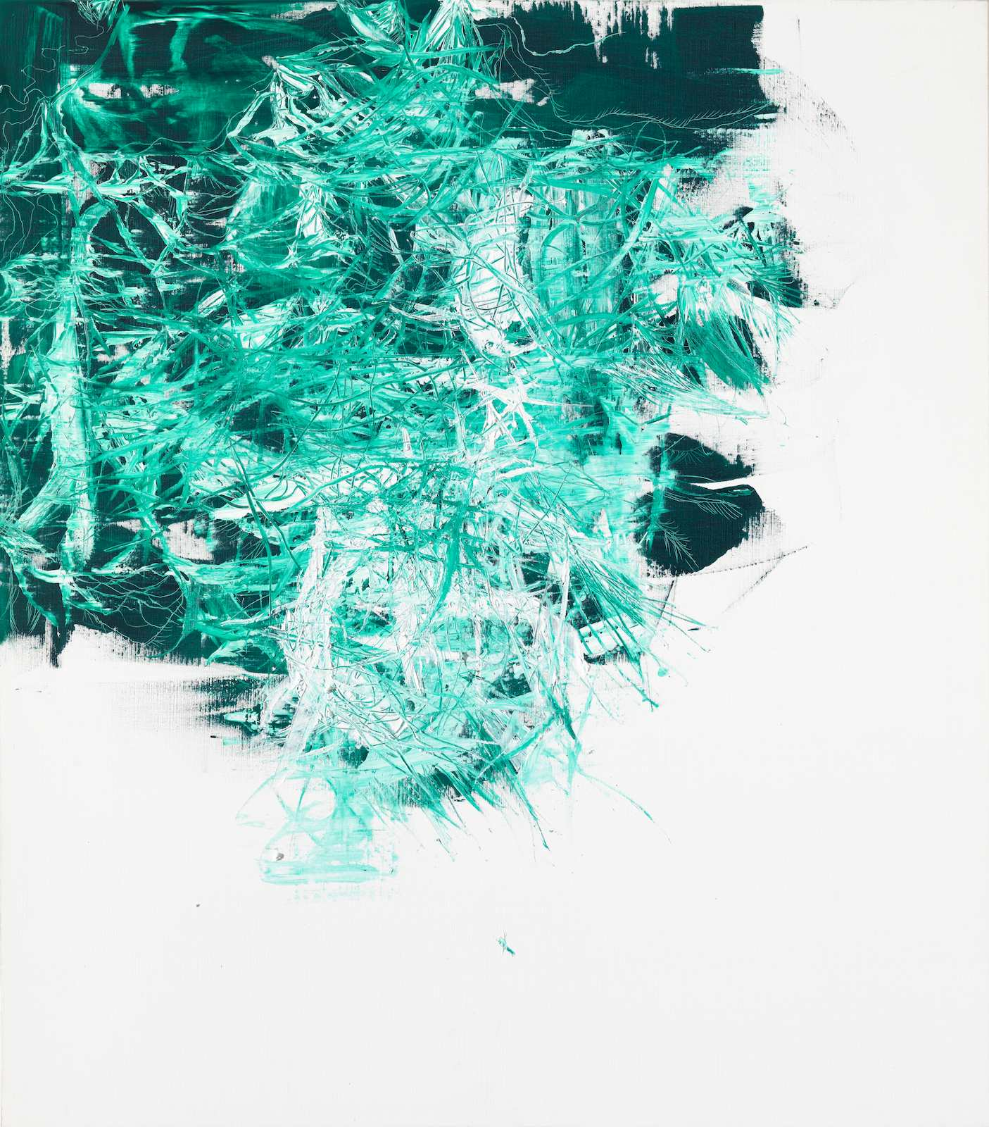 The Letharia Painting No.08, 2012, oil and acrylic on canvas, 165 x 145 cm