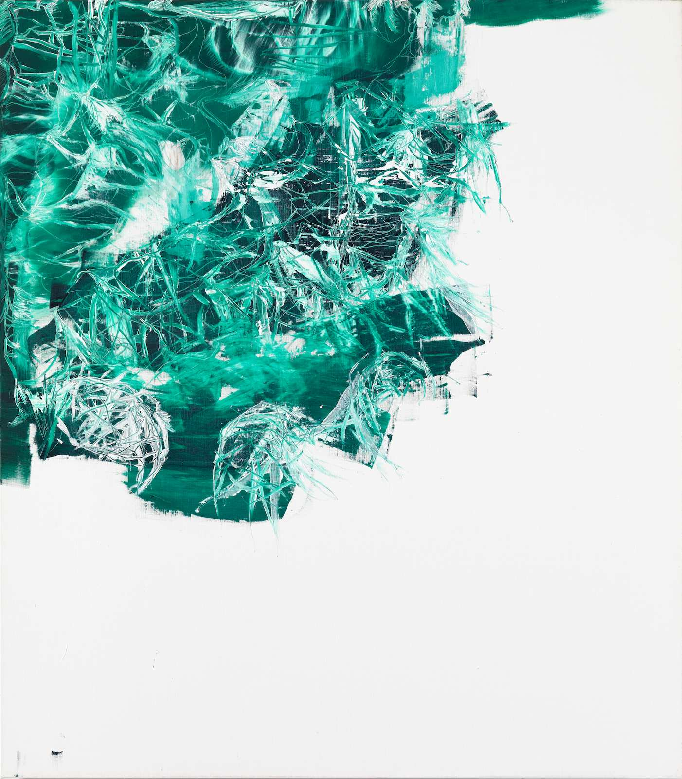 The Letharia Painting No.09, 2012, oil and acrylic on canvas, 165 x 145 cm