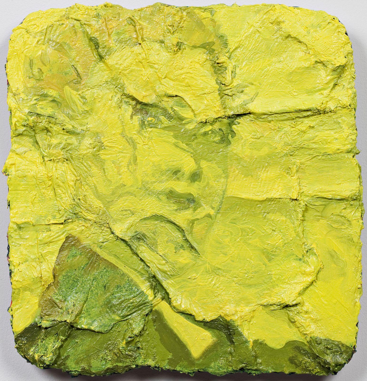 Studie til et ideelt hode (Skuespilleren), 2009, oil on canvas on panel, 41 x 39 cm