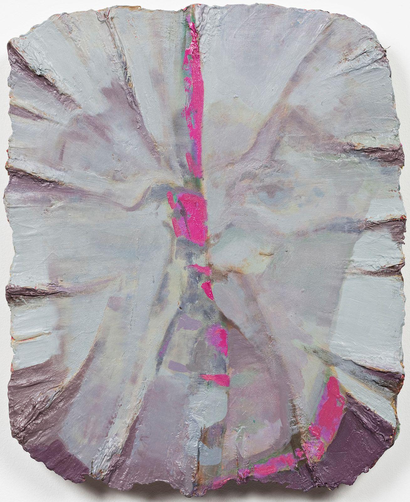 Studie til et ideelt hode (Det indre øye), 2009, oil on canvas on panel, 45 x 37 cm