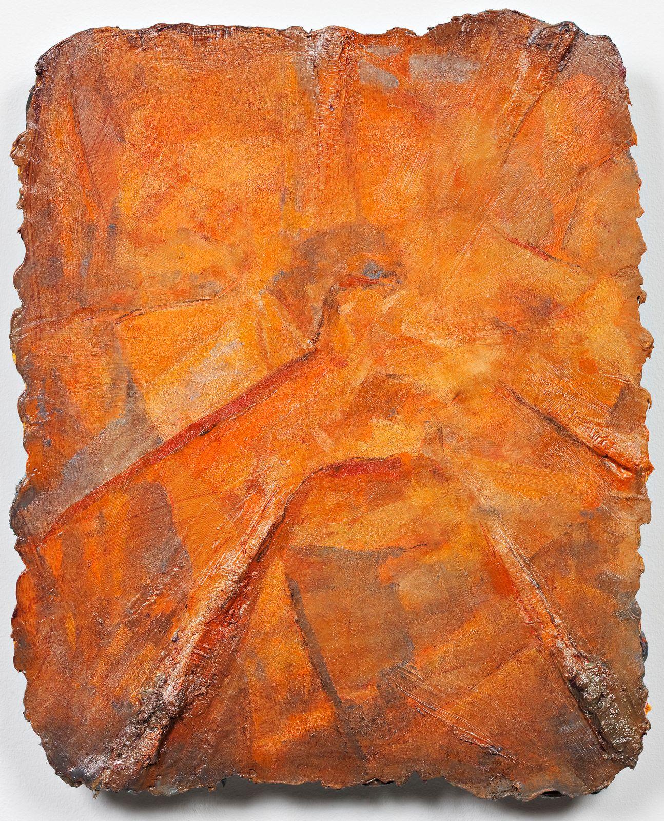 Studie til et ideelt hode (Manneristen), 2009, oil on canvas on panel, 42 x 34 cm