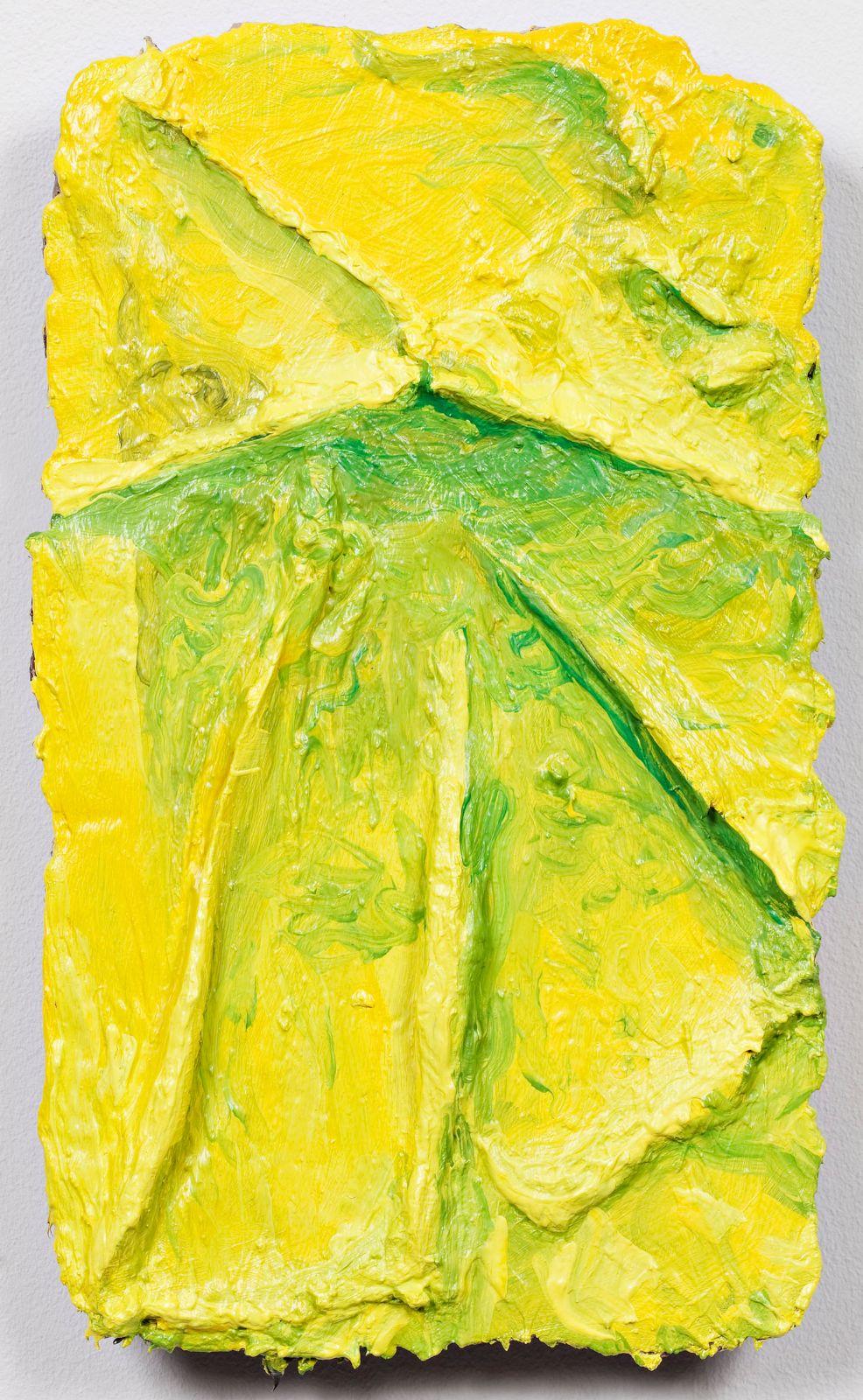 Studie til et ideelt hode (Hyder), 2009, oil on canvas on panel, 32.5 x 19.5 cm