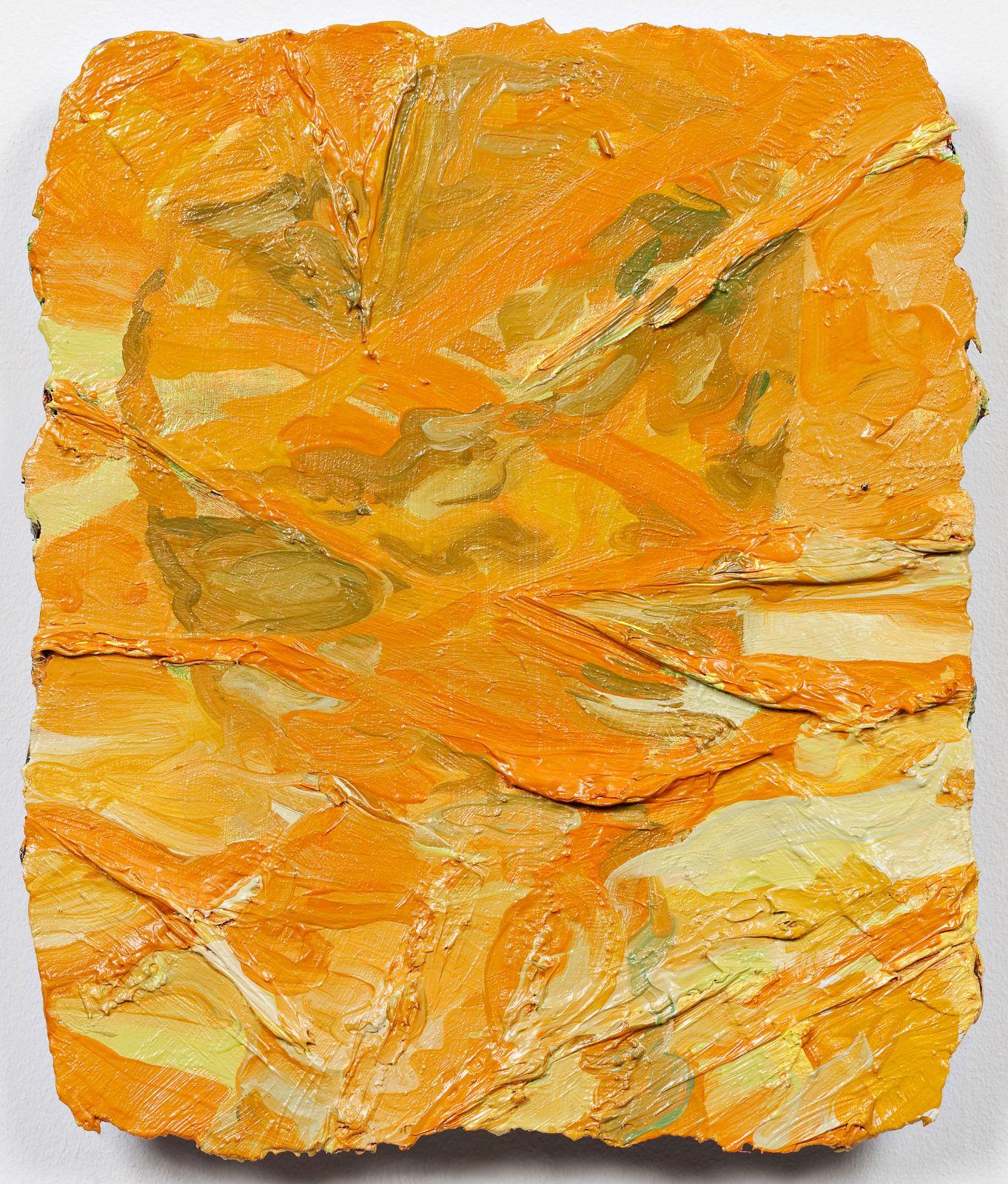 Studie til et ideelt hode (Mannequin), 2009, oil on canvas on panel, 30.5 x 25.5 cm
