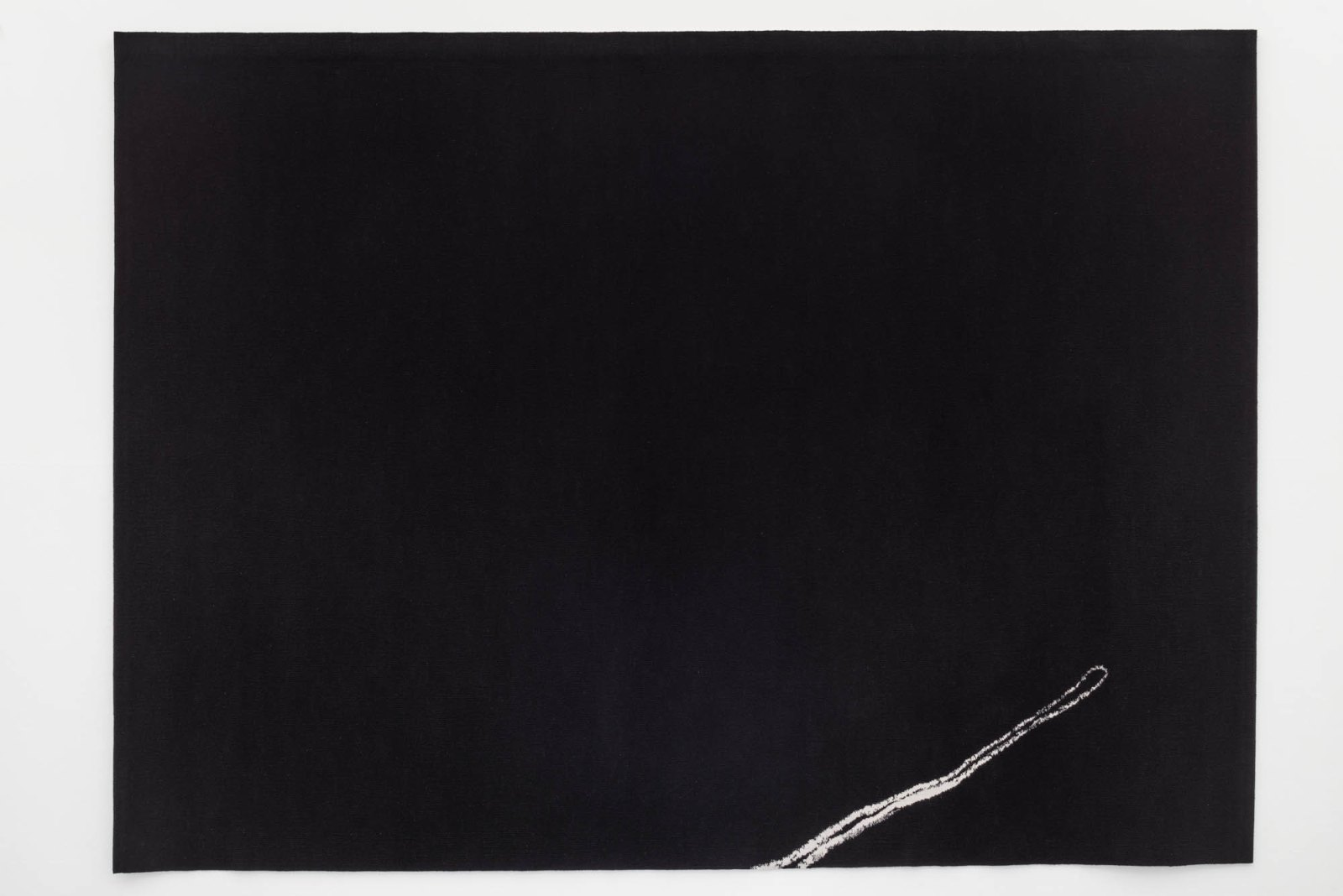 Jan Groth, Sign, 1974-75, tapestry woven in collaboration with Benedikte Groth, 220 x 305 cm