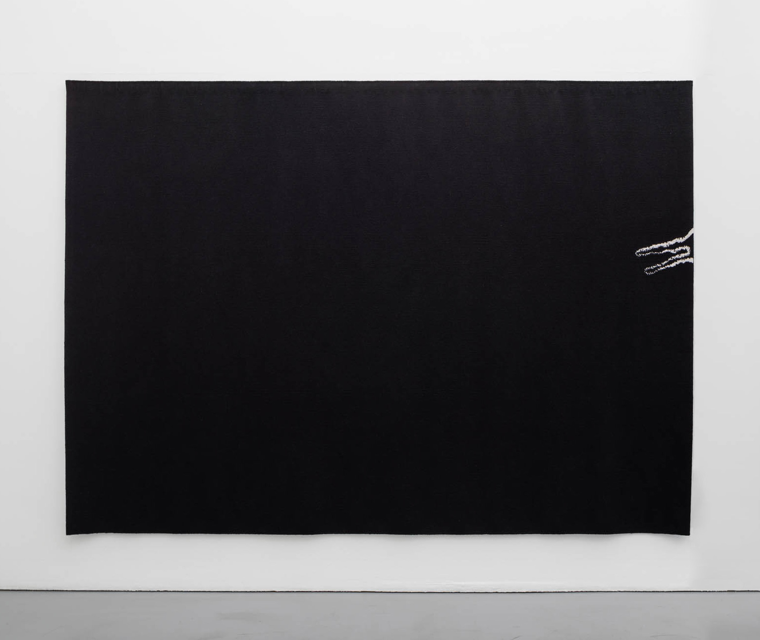 Jan Groth, Sign, 1975-76, tapestry woven in collaboration with Benedikte Groth, 220 x 305 cm