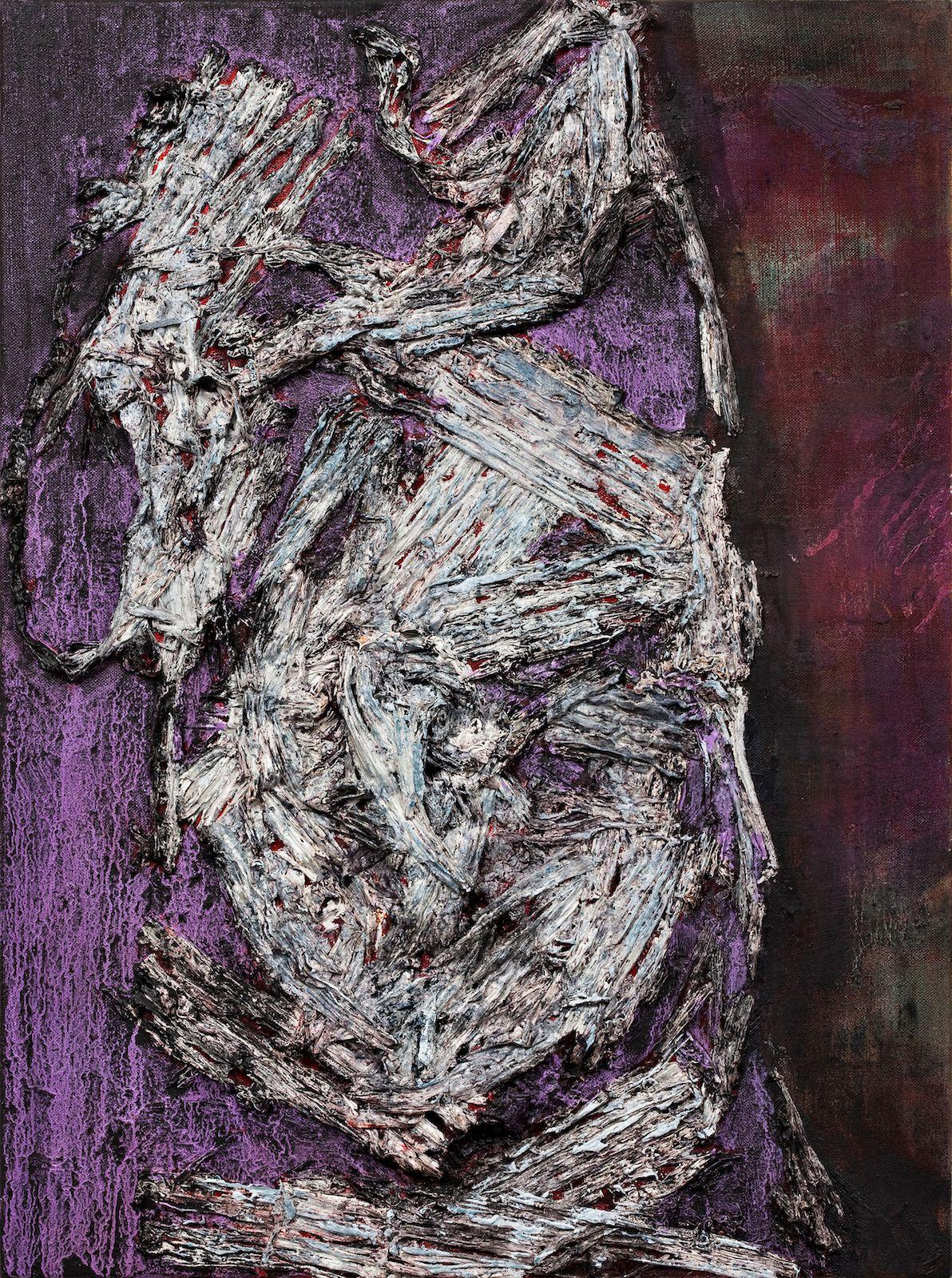 Tungetaler, 2009, oil on canvas on panel, 60 x 45 cm