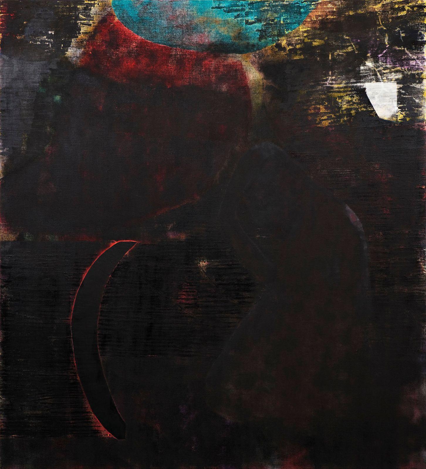 Bysantinisme, 2009, oil on canvas on panel, 180 x 165 cm