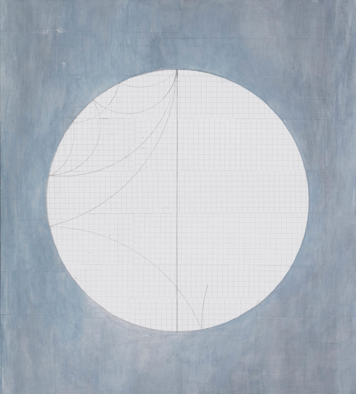Solar Oscillations, 2016, acrylic and pencil on paper, 37 x 34 cm