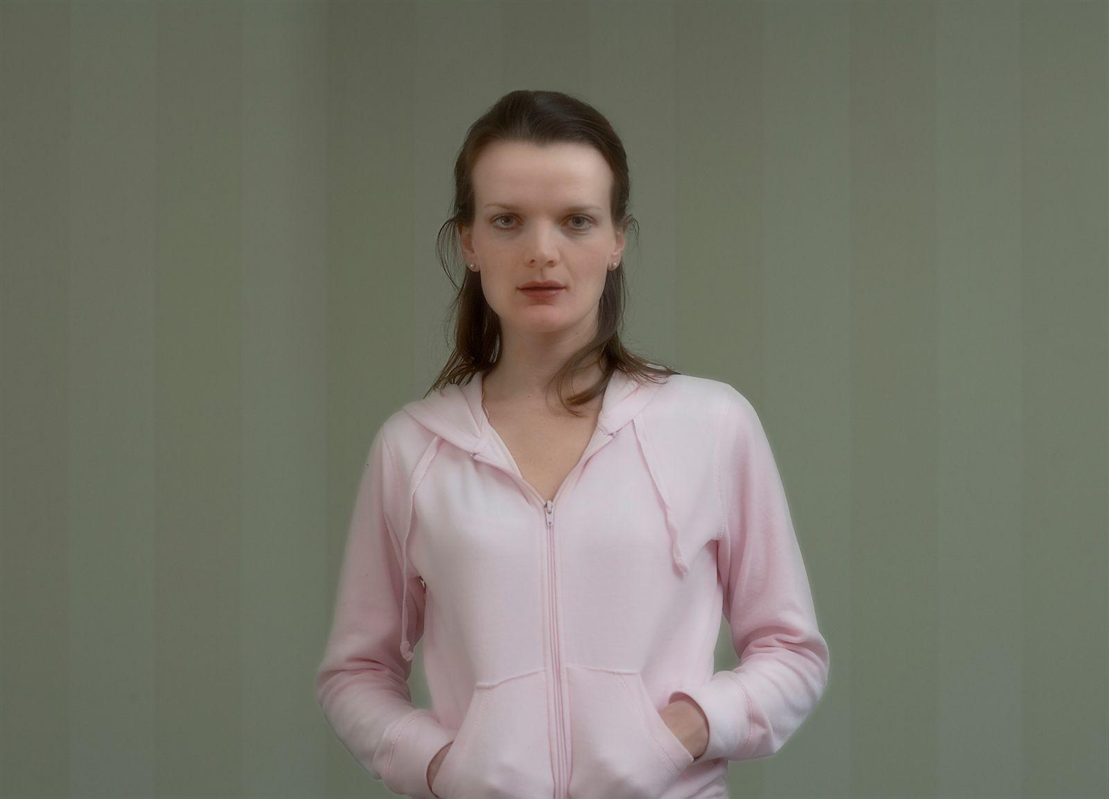 pink sweats, striped wall, pink sweats, striped wall, 2016, archival inkjet print, 18 x 25 cm, ed. 5 + AP