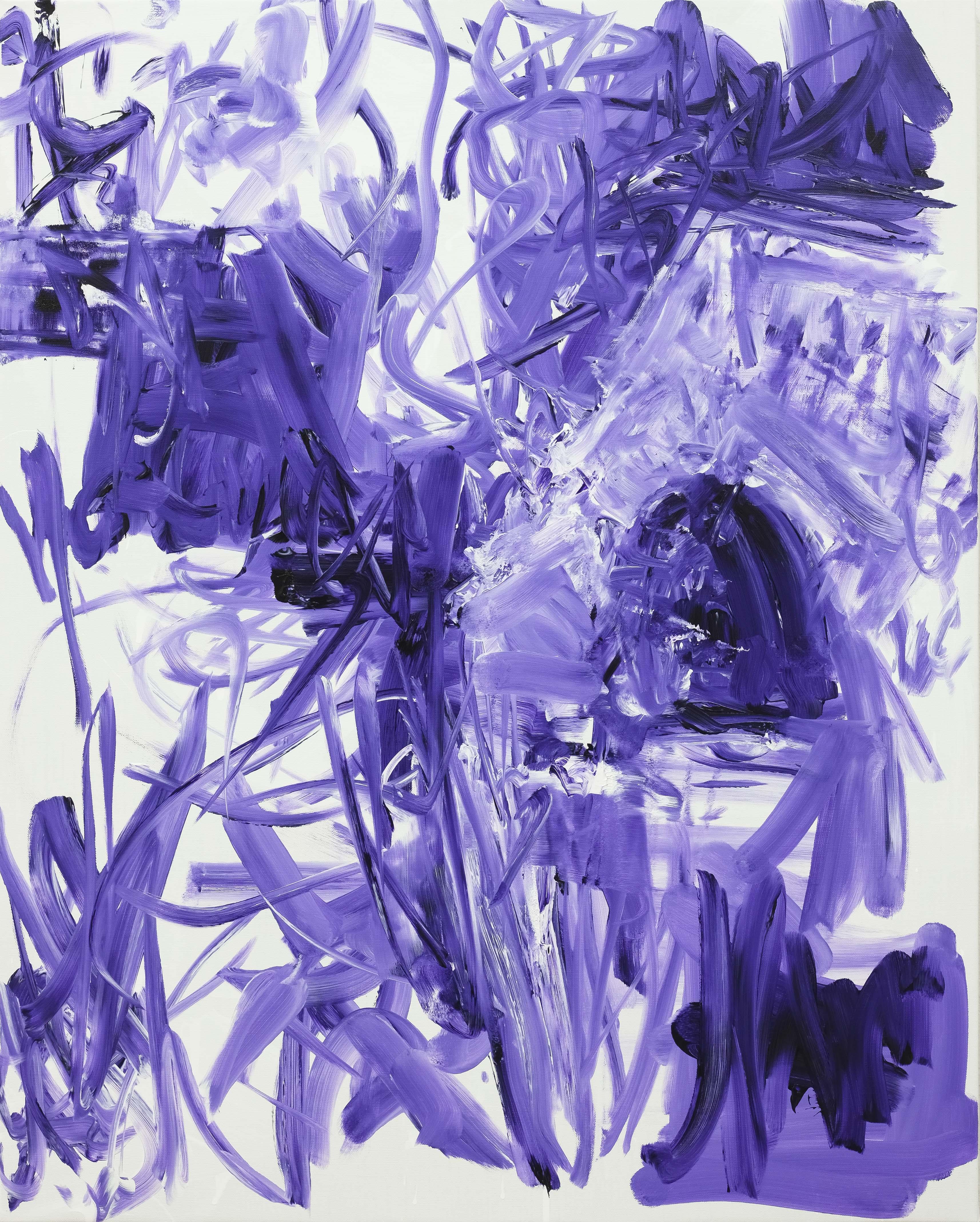 Untitled, 2016, acrylic on canvas, 100 x 80 cm
