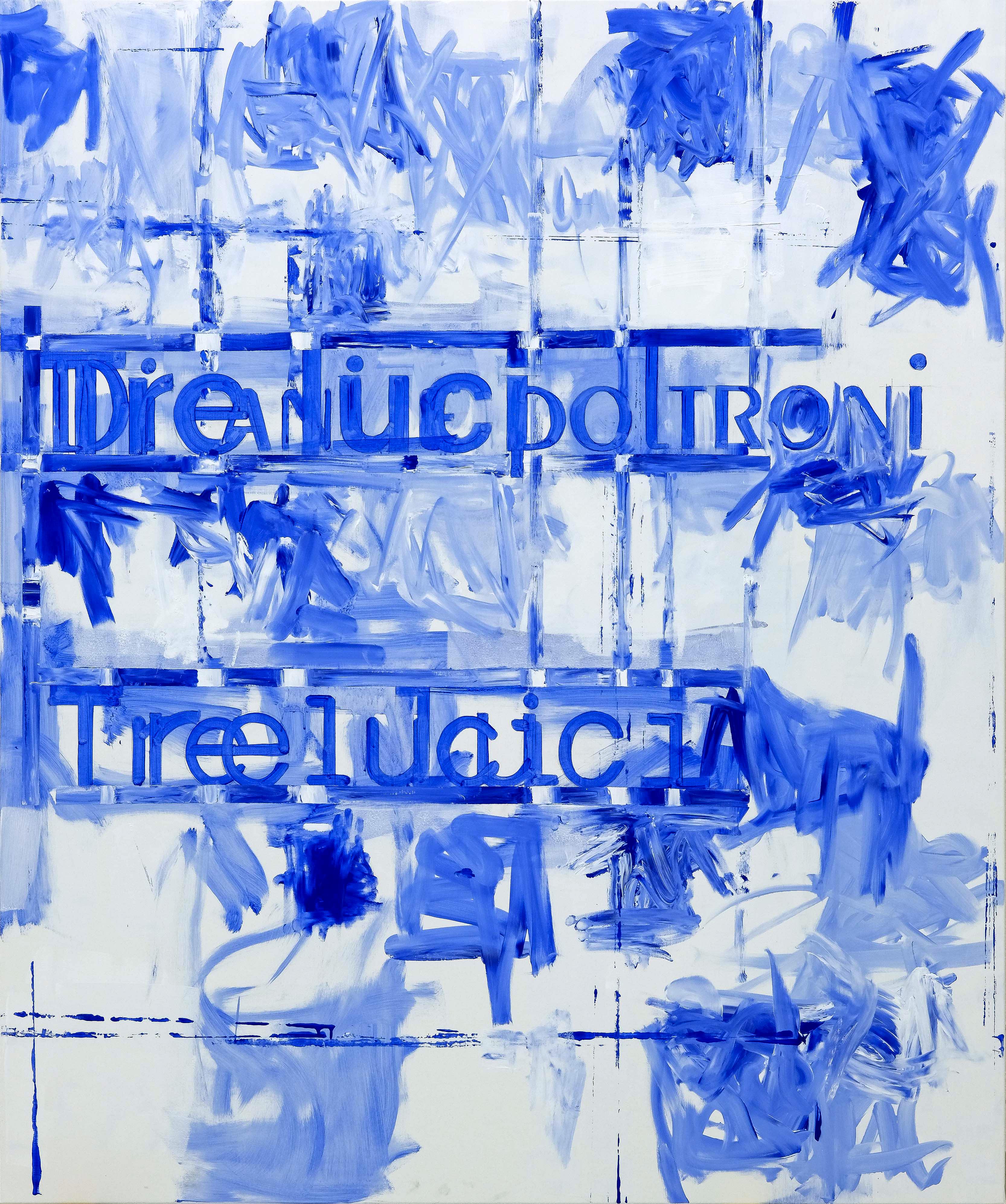 Untitled, 2016, acrylic on canvas, 180 x 150 cm