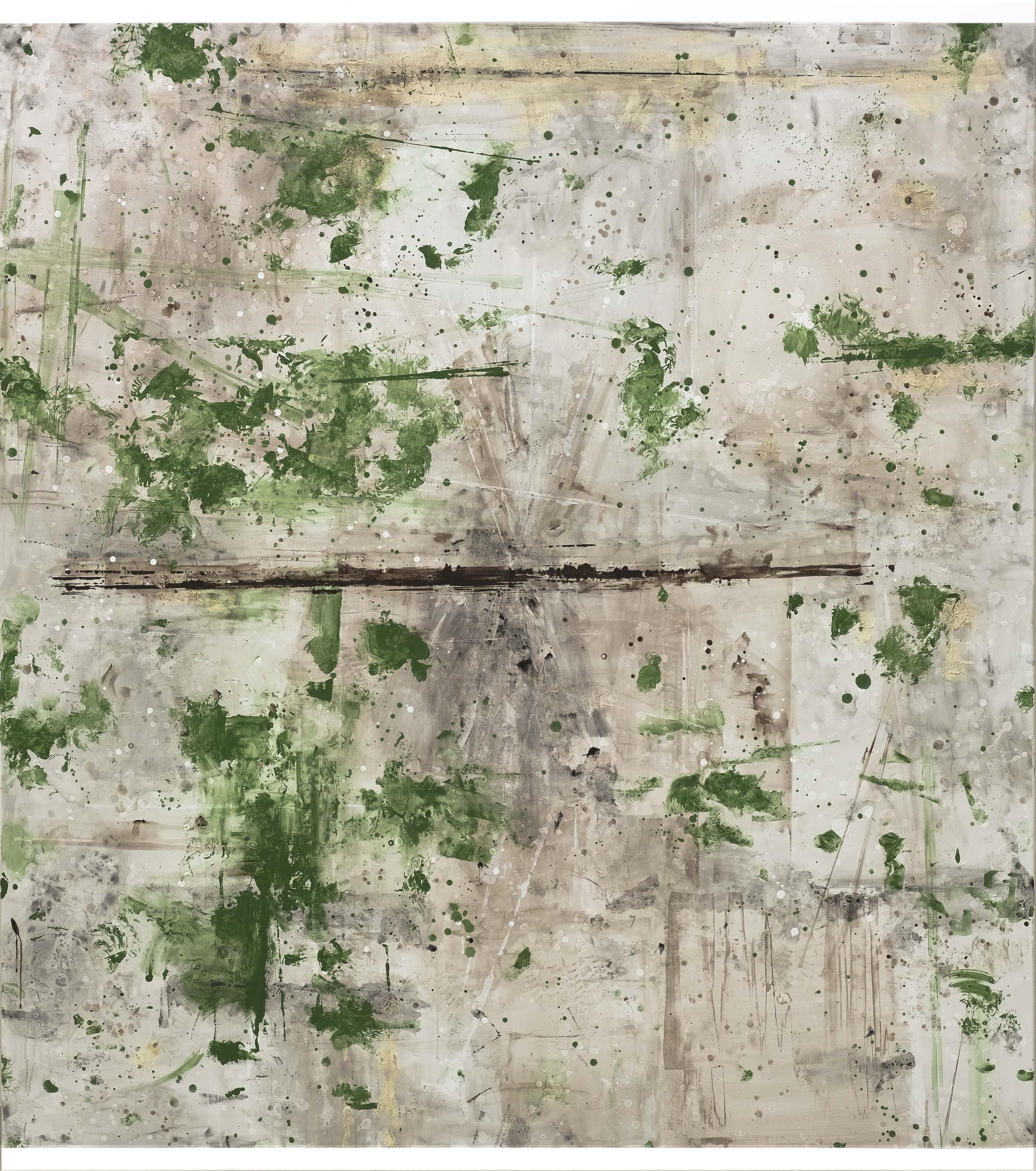 Untitled, 2017, acrylic on canvas, 250 x 220 cm