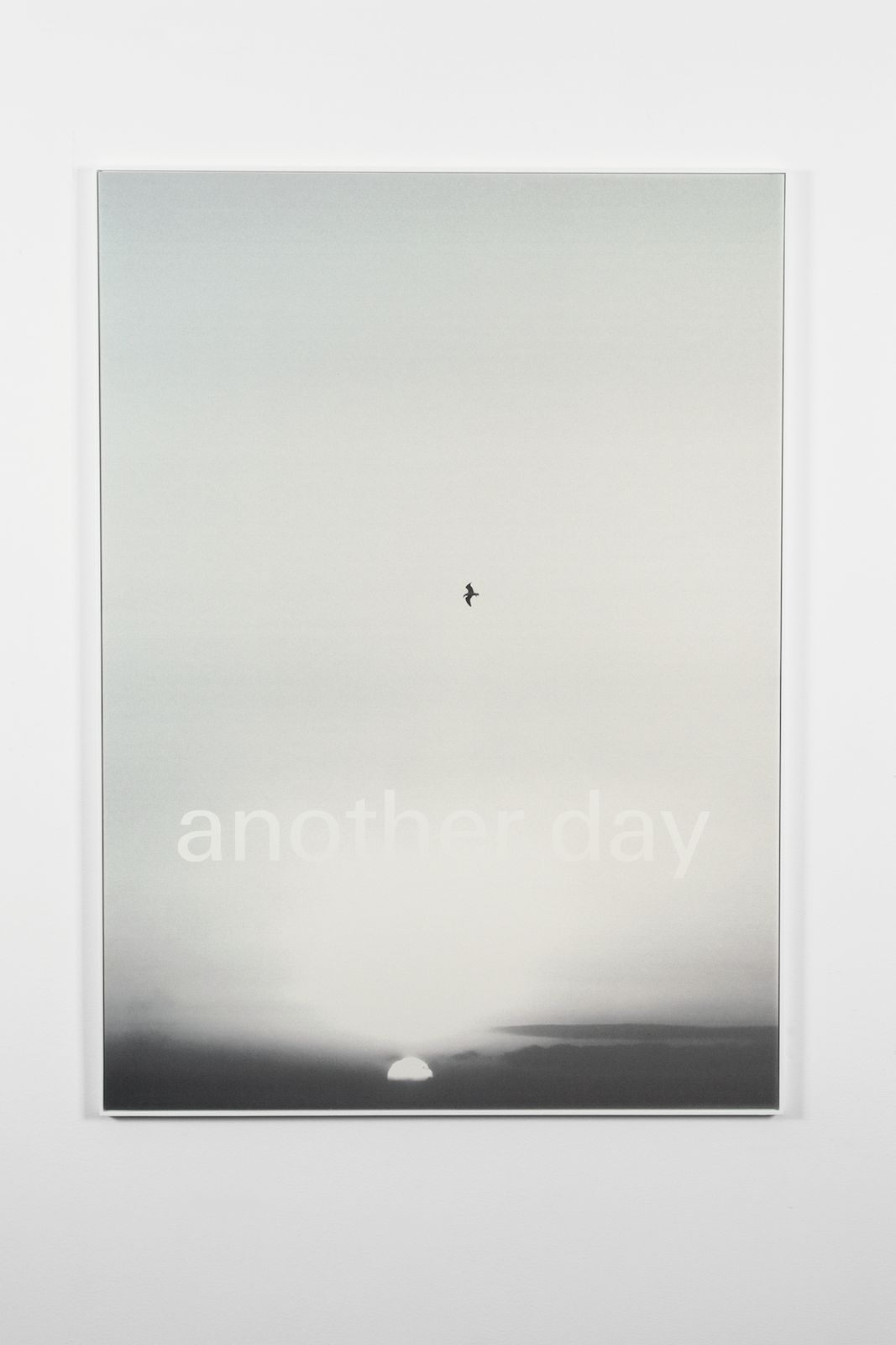 Another day, 2011, screen print on paper, frame, 110 x 80 cm, edition of 50