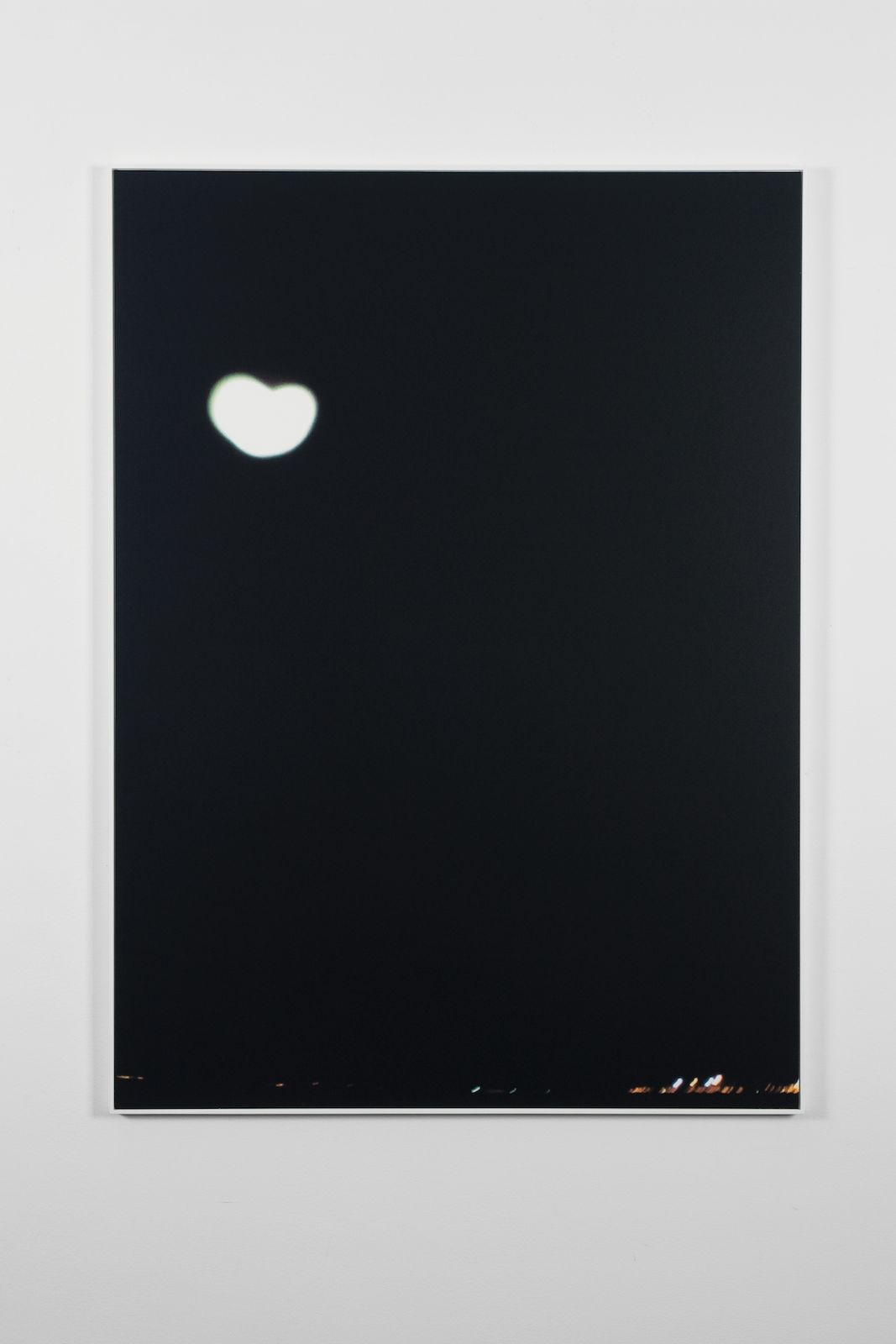 Moon, 2011, screen print on paper, frame, 110 x 80 cm, edition of 15 + 1 AP
